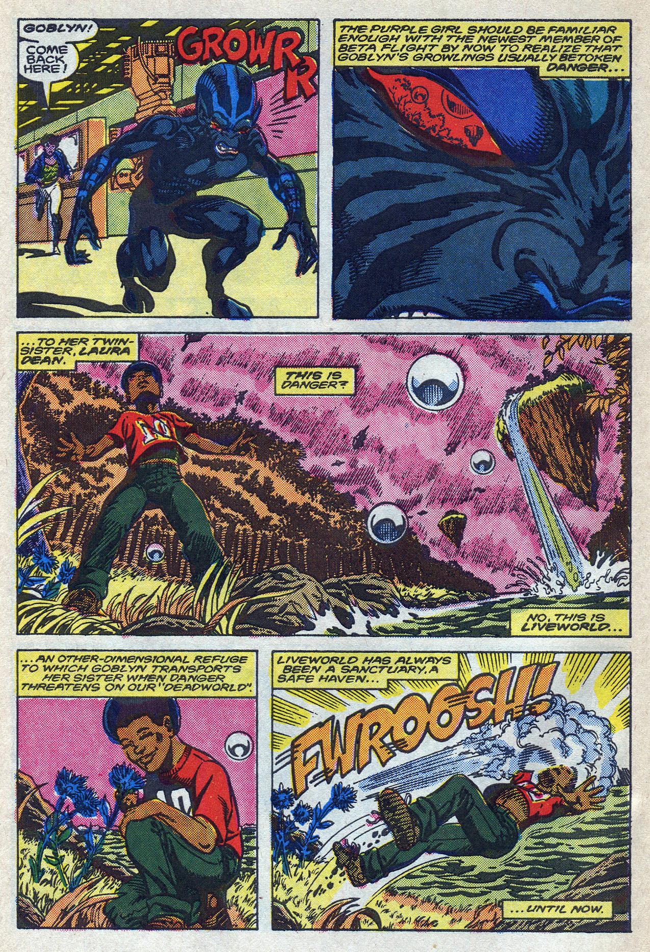 Read online Alpha Flight (1983) comic -  Issue #58 - 6