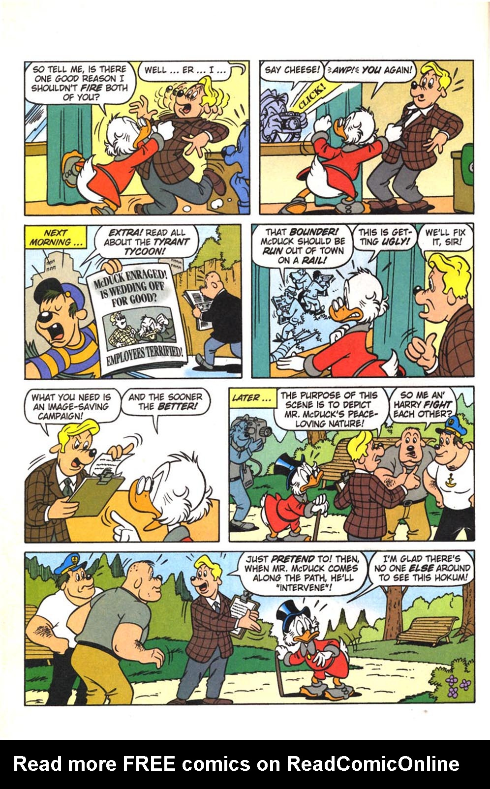 Read online Uncle Scrooge (1953) comic -  Issue #307 - 16