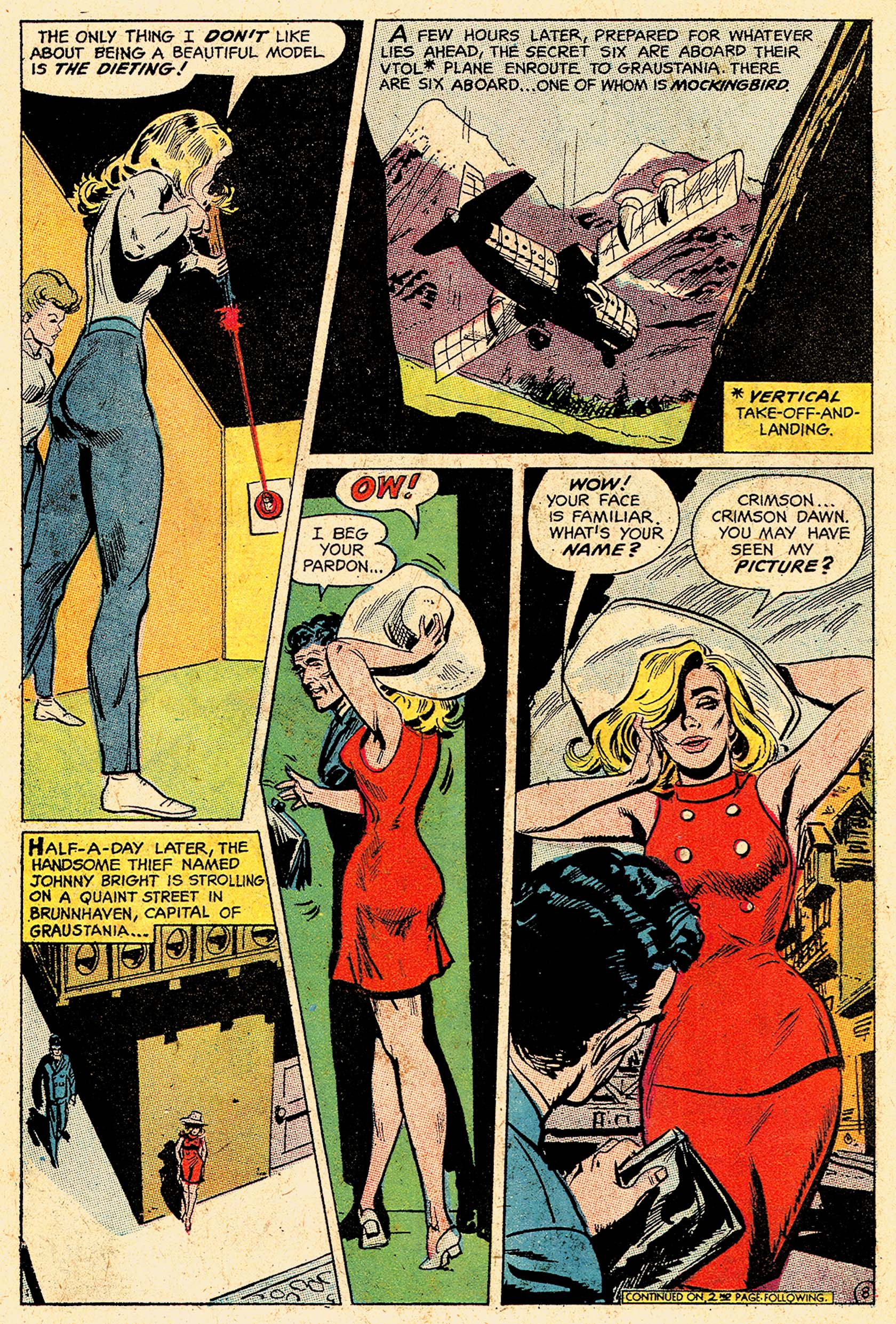 Read online Secret Six (1968) comic -  Issue #5 - 11