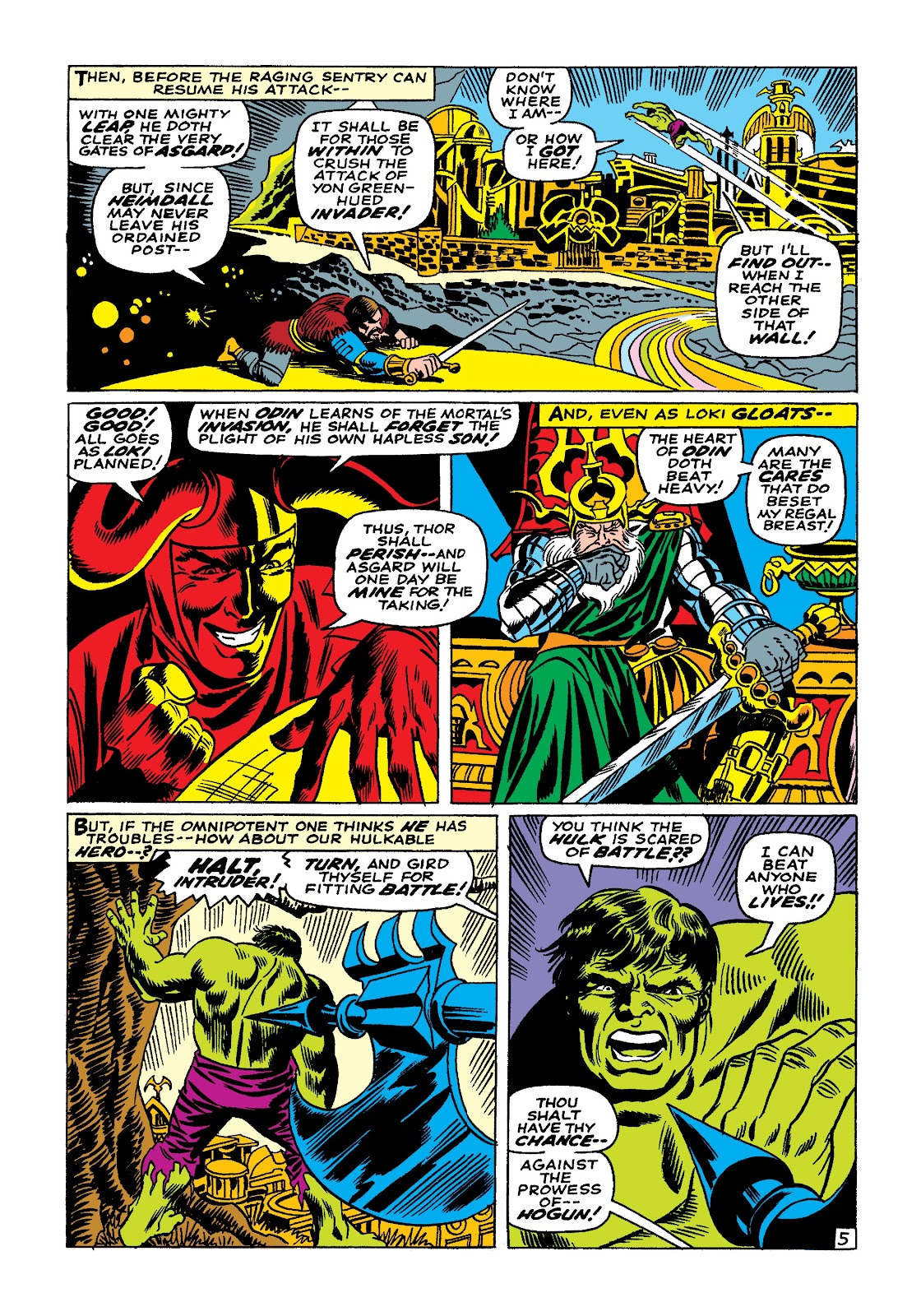 Read online Marvel Masterworks: The Incredible Hulk comic -  Issue # TPB 3 (Part 3) - 56