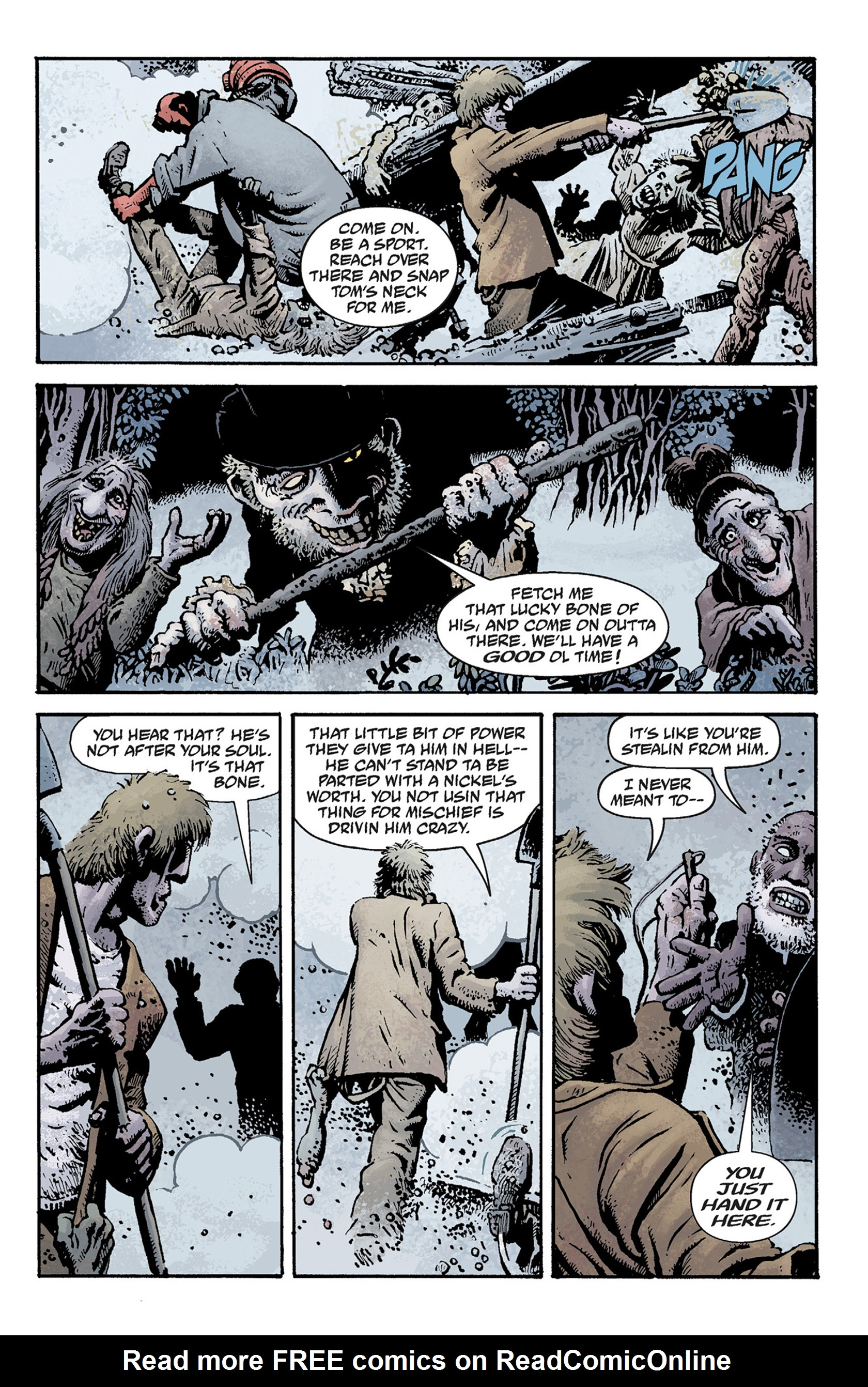 Read online Hellboy: The Crooked Man and Others comic -  Issue # TPB - 71