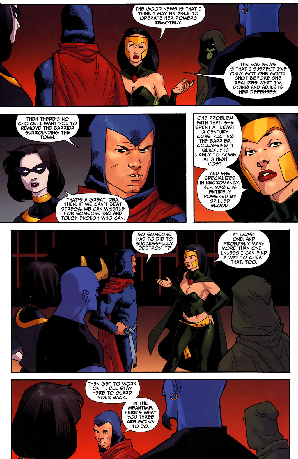 Read online Shadowpact comic -  Issue #3 - 14
