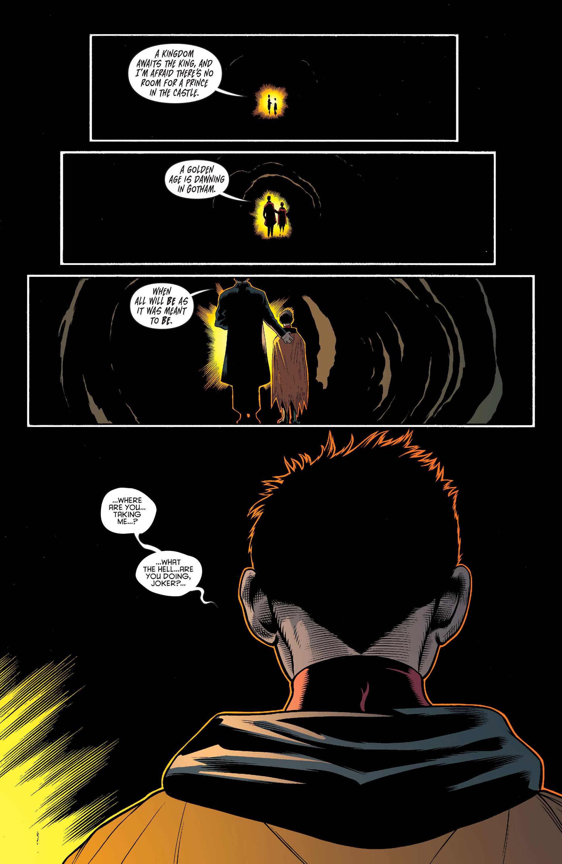 Read online Batman and Robin (2011) comic -  Issue #16 - 19