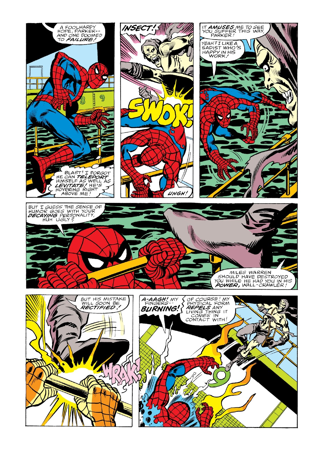 Read online Marvel Masterworks: The Spectacular Spider-Man comic -  Issue # TPB 2 (Part 3) - 67