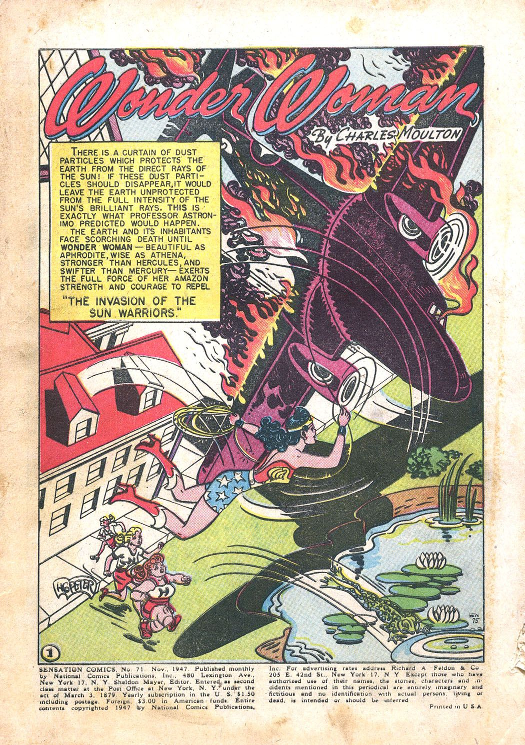 Read online Sensation (Mystery) Comics comic -  Issue #71 - 3