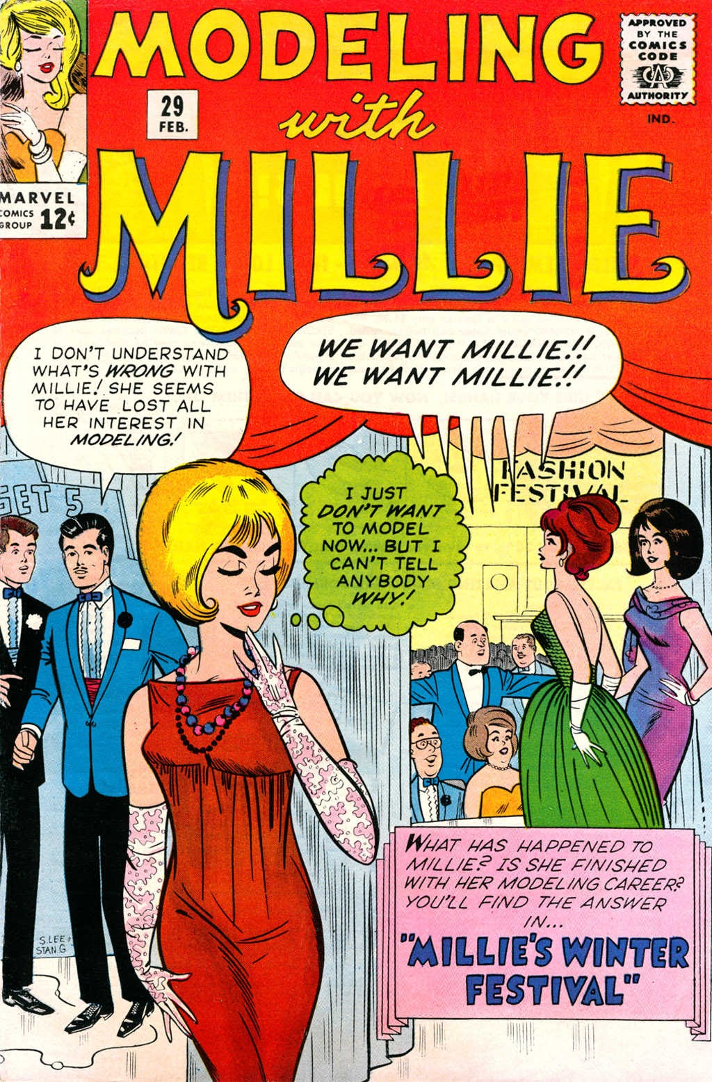 Modeling With Millie issue 29 - Page 1