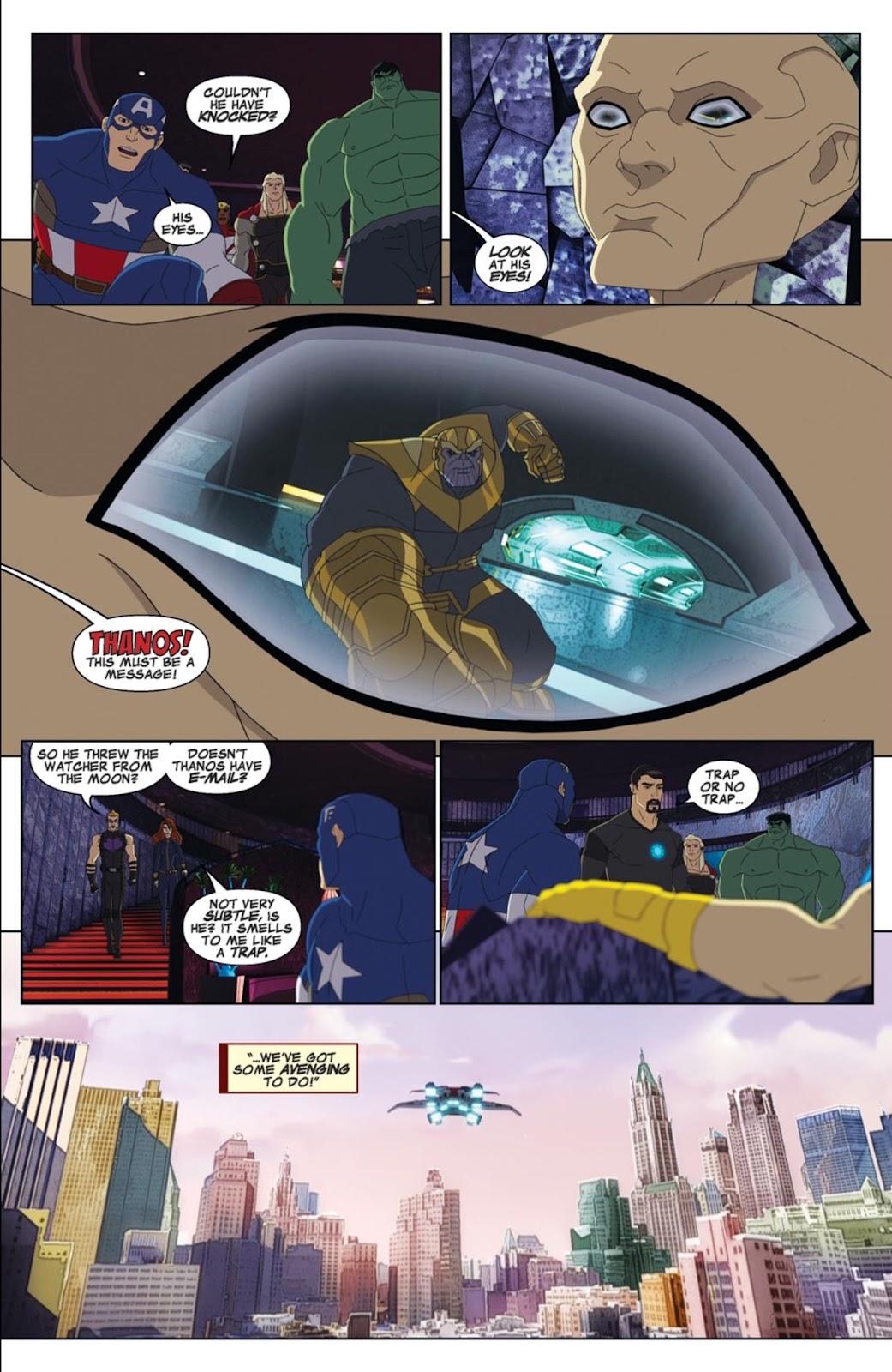 Read online Marvel Universe Avengers Assemble Season 2 comic -  Issue #2 - 6