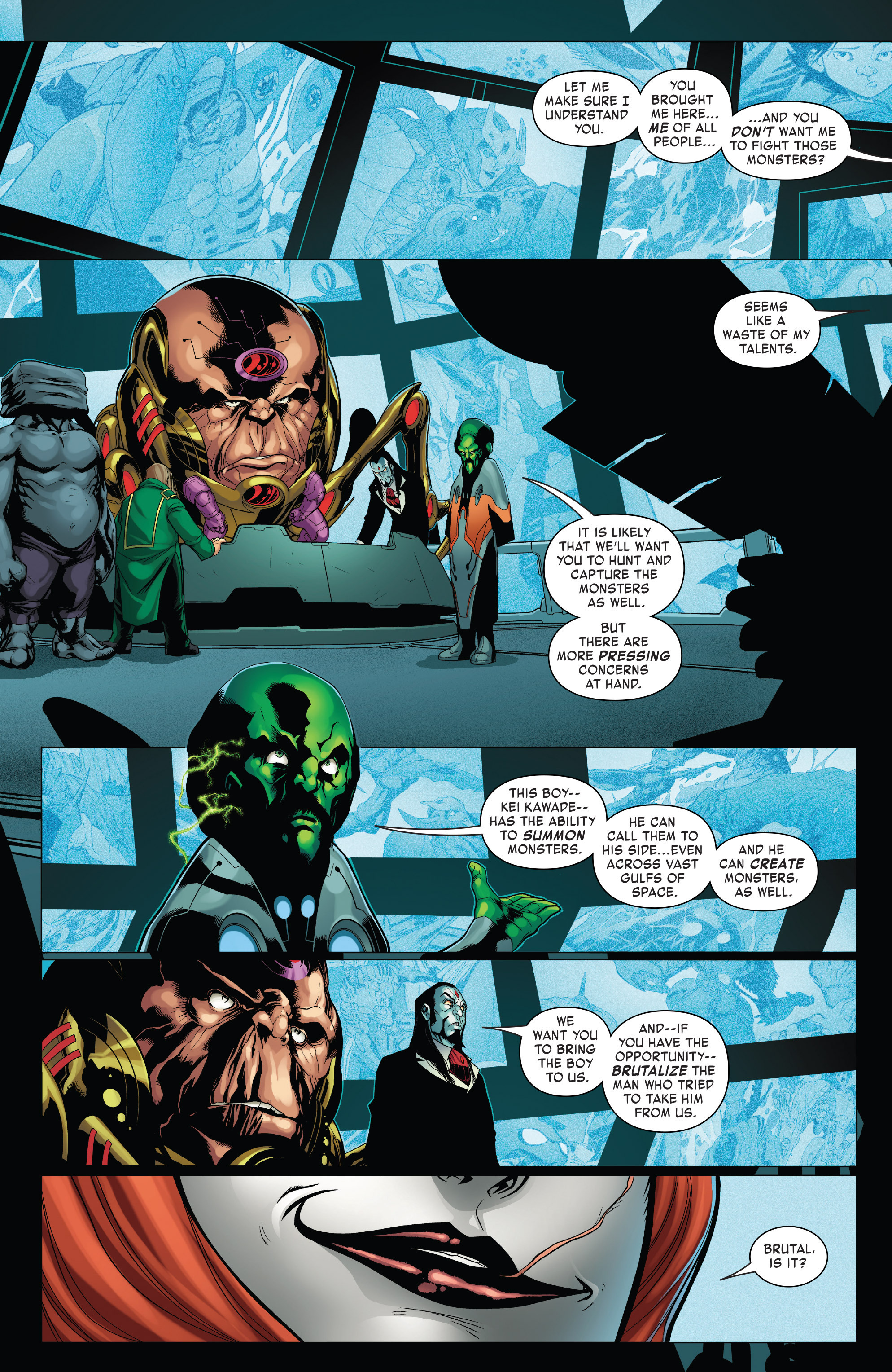 Read online Monsters Unleashed II comic -  Issue #2 - 19