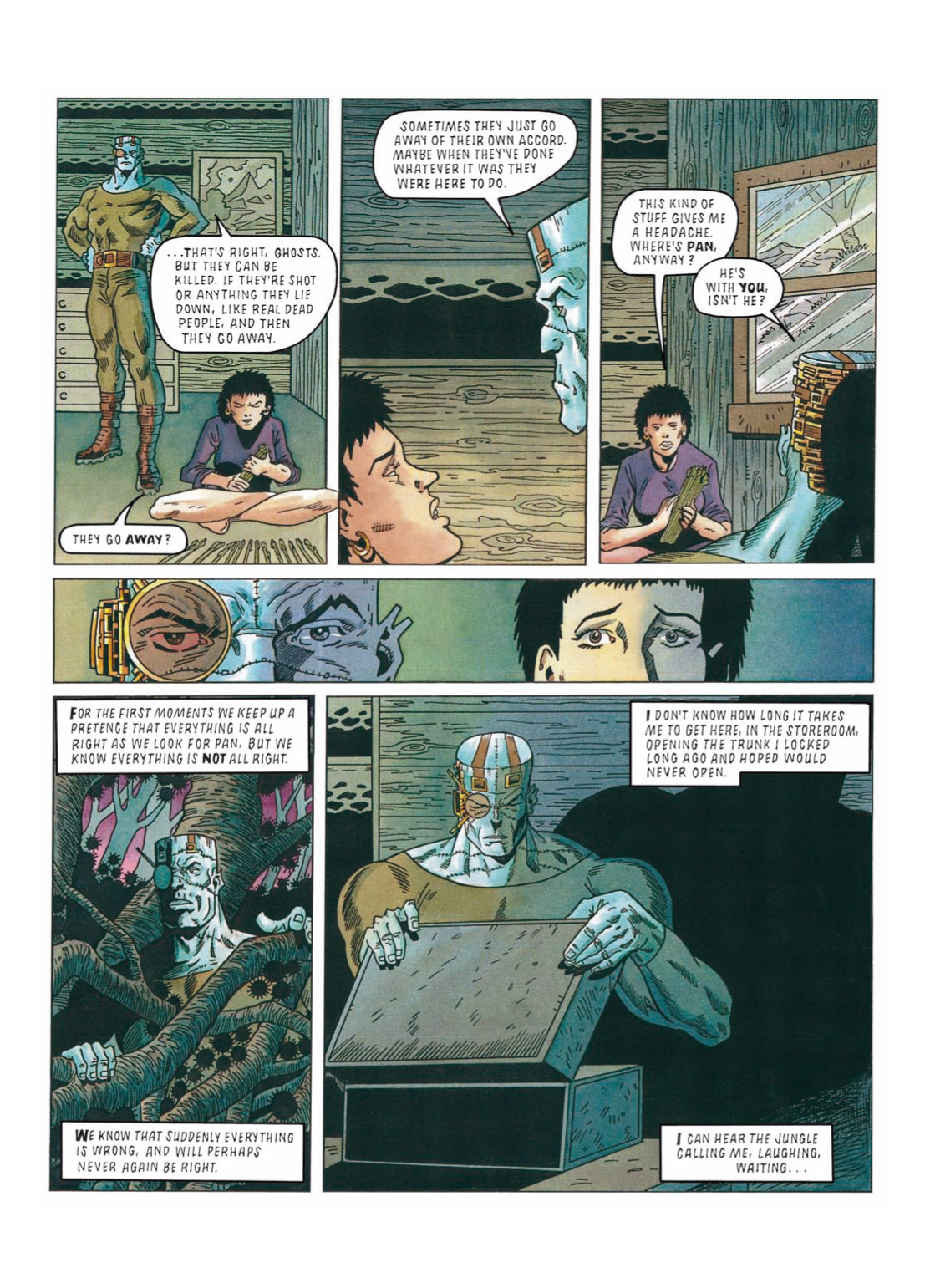 Read online The Complete Bad Company comic -  Issue # TPB - 273