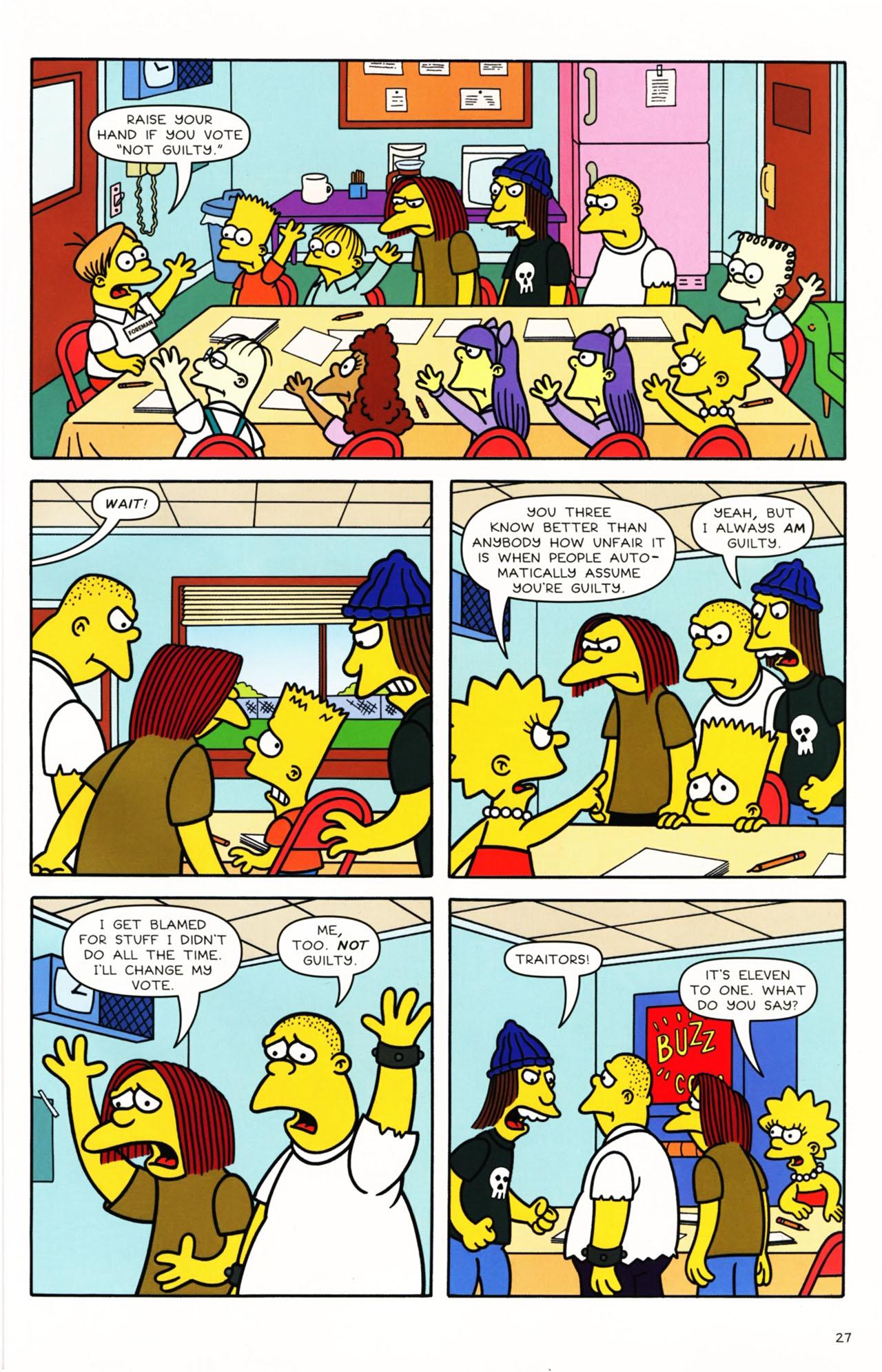 Read online Simpsons Comics Presents Bart Simpson comic -  Issue #49 - 25