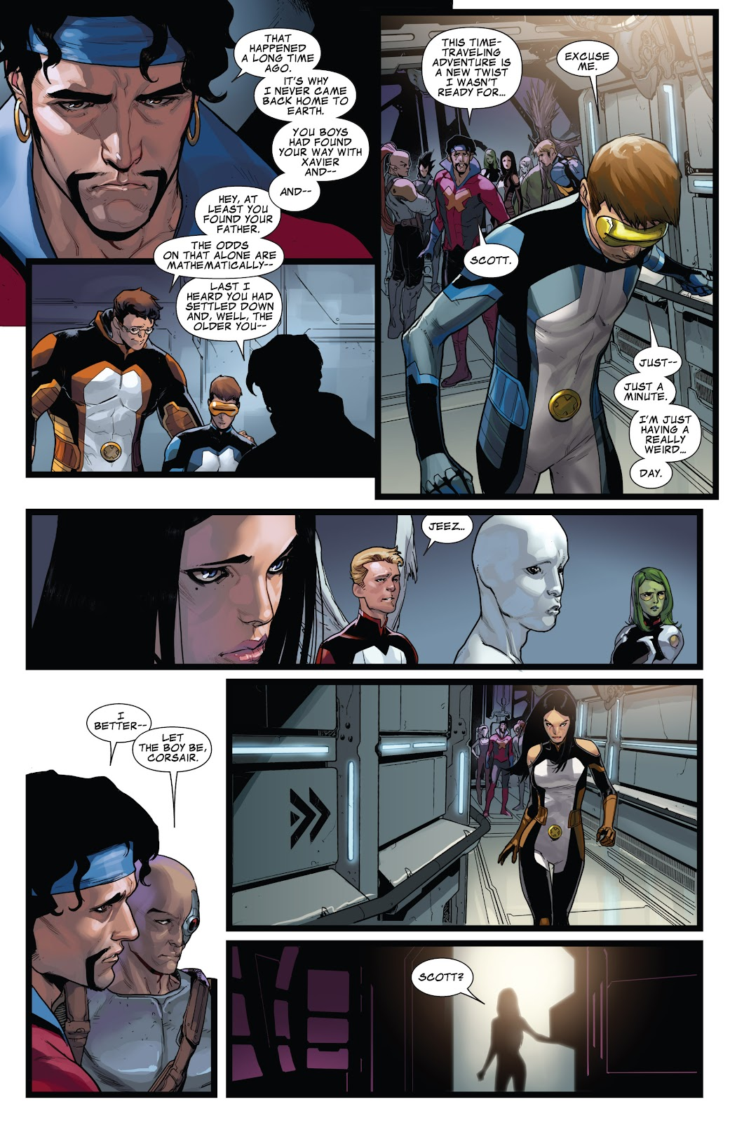Guardians of the Galaxy/All-New X-Men: The Trial of Jean Grey issue TPB - Page 70