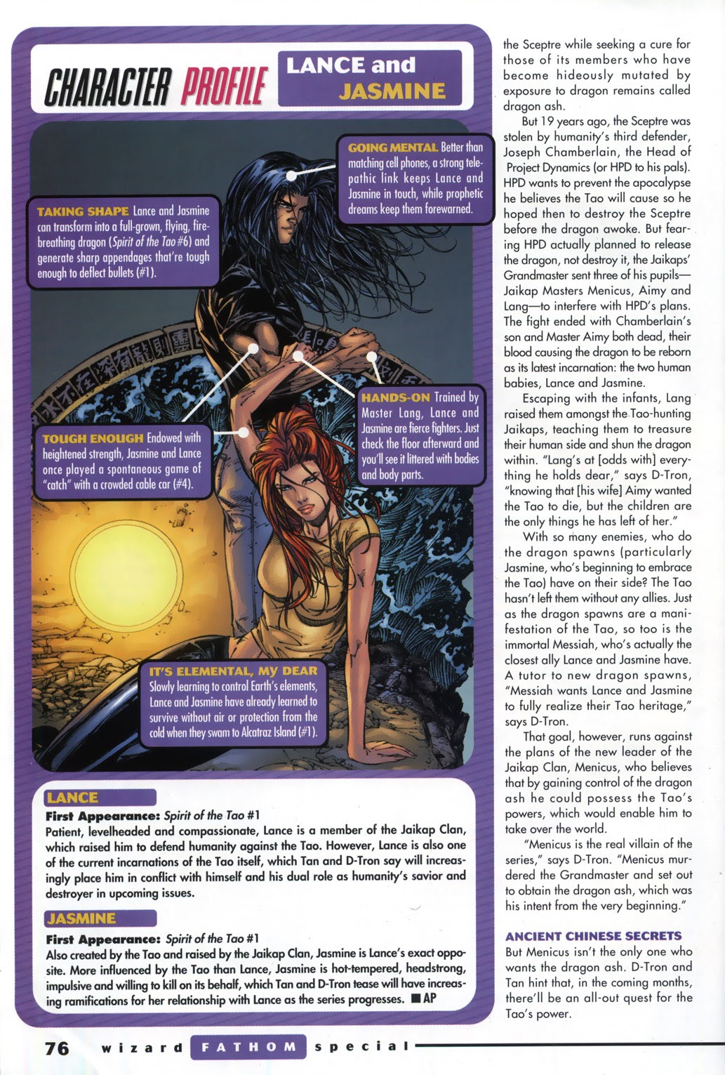 Read online Fathom Special comic -  Issue # Full - 55