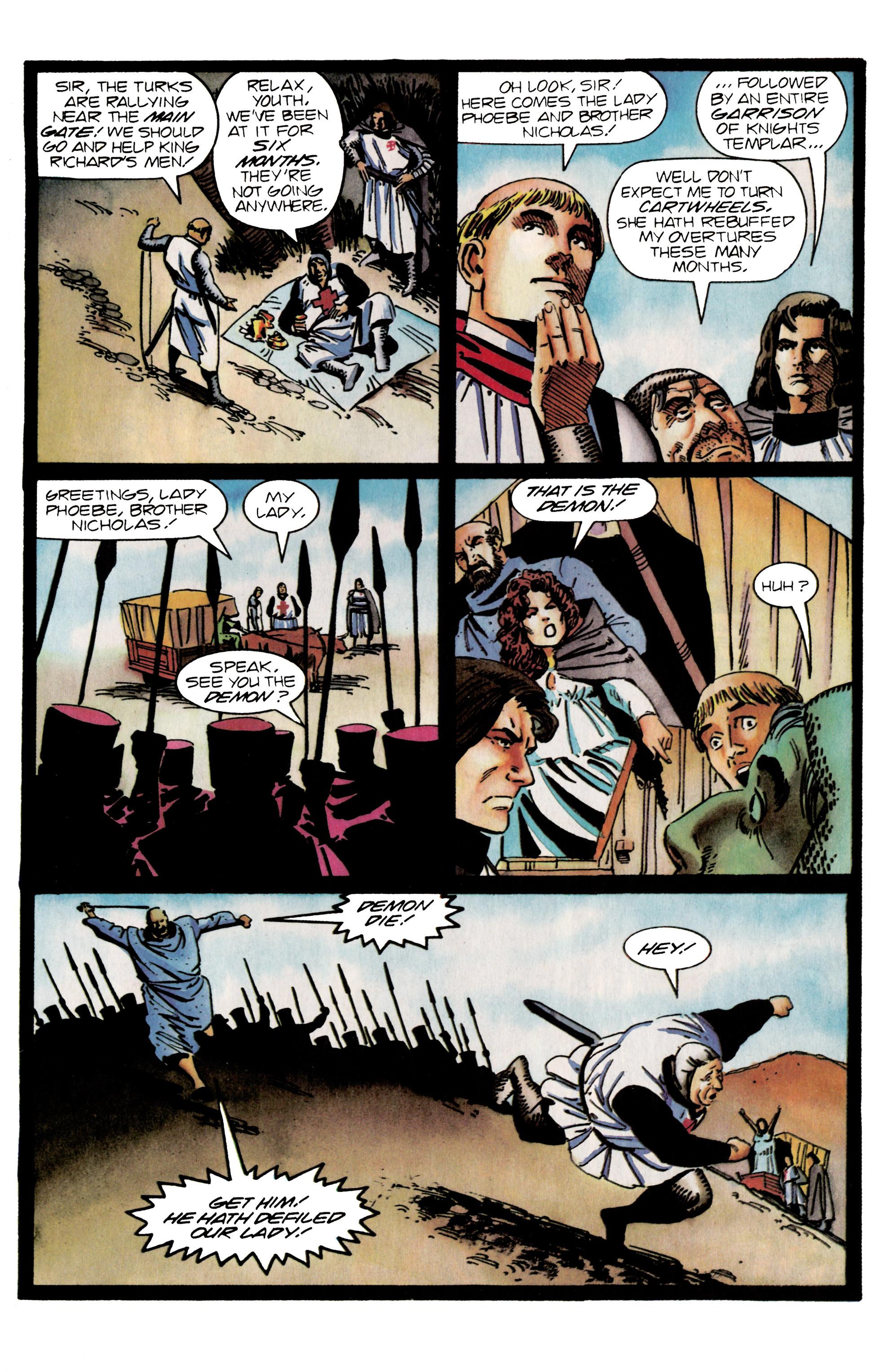 Read online Eternal Warrior (1992) comic -  Issue #25 - 18