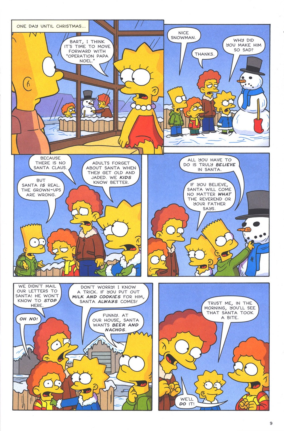 Read online The Simpsons Winter Wingding comic -  Issue #3 - 11
