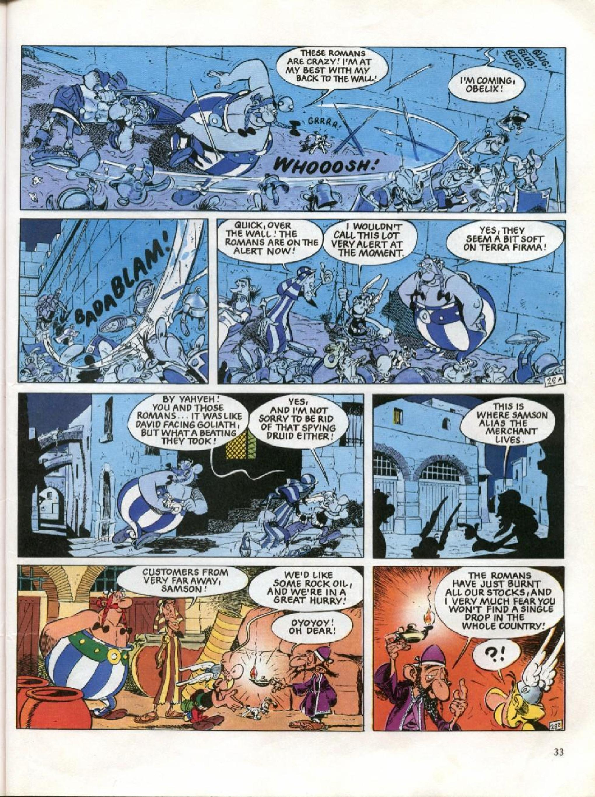 Read online Asterix comic -  Issue #26 - 30