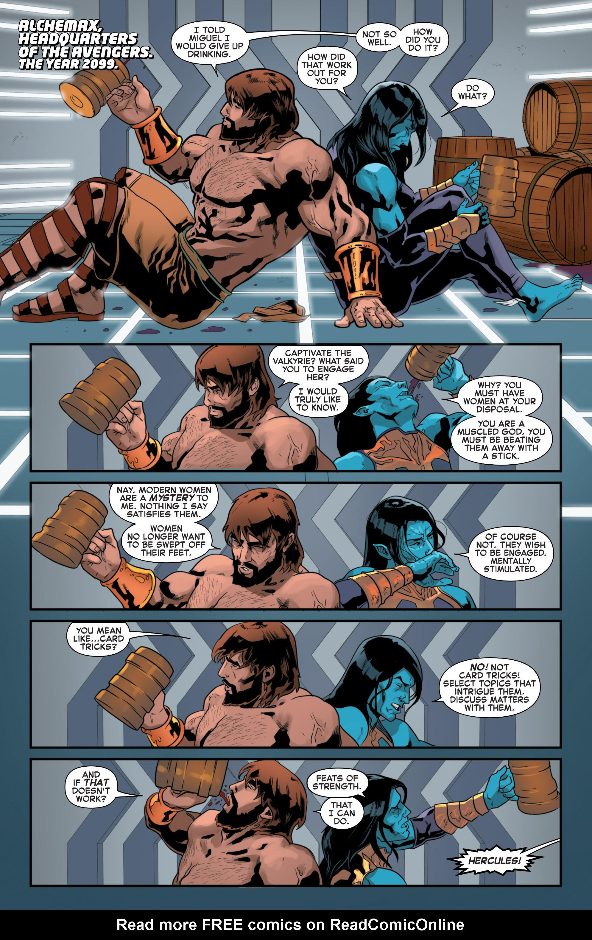 Read online Secret Wars 2099 comic -  Issue #4 - 3