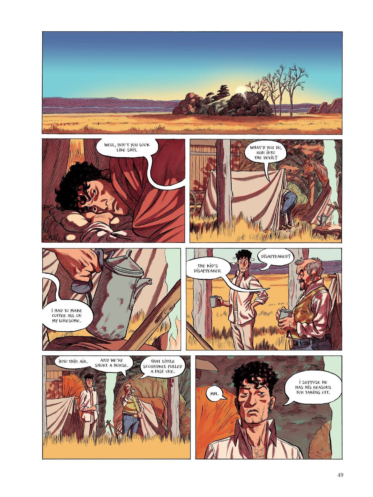 Read online The Smell of Starving Boys comic -  Issue # TPB - 50