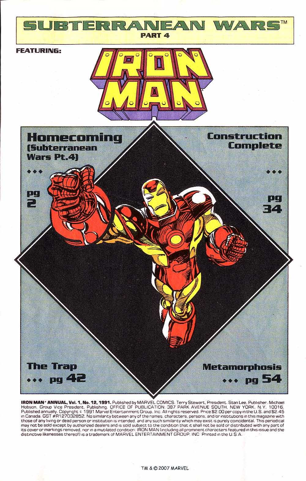 Iron Man Annual issue 12 - Page 3