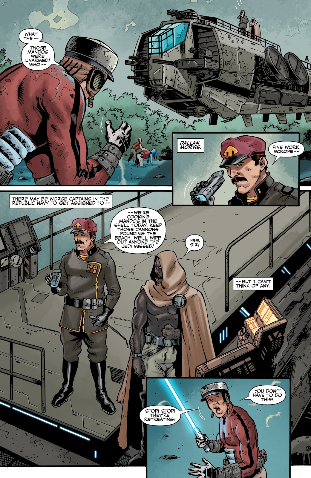 Read online Star Wars Legends: The Old Republic - Epic Collection comic -  Issue # TPB 3 (Part 4) - 7