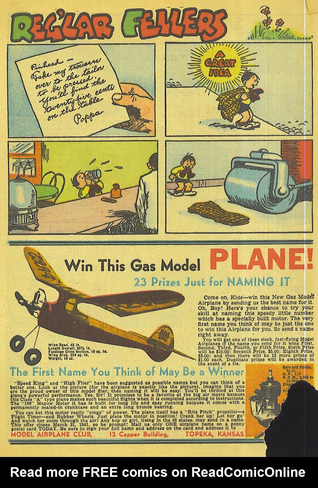 Reglar Fellers Heroic Comics issue 5 - Page 8