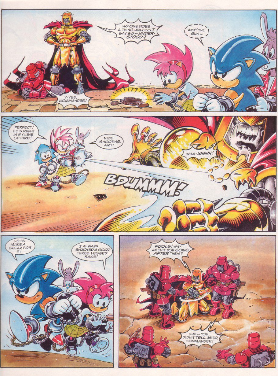 Read online Sonic the Comic comic -  Issue #65 - 5