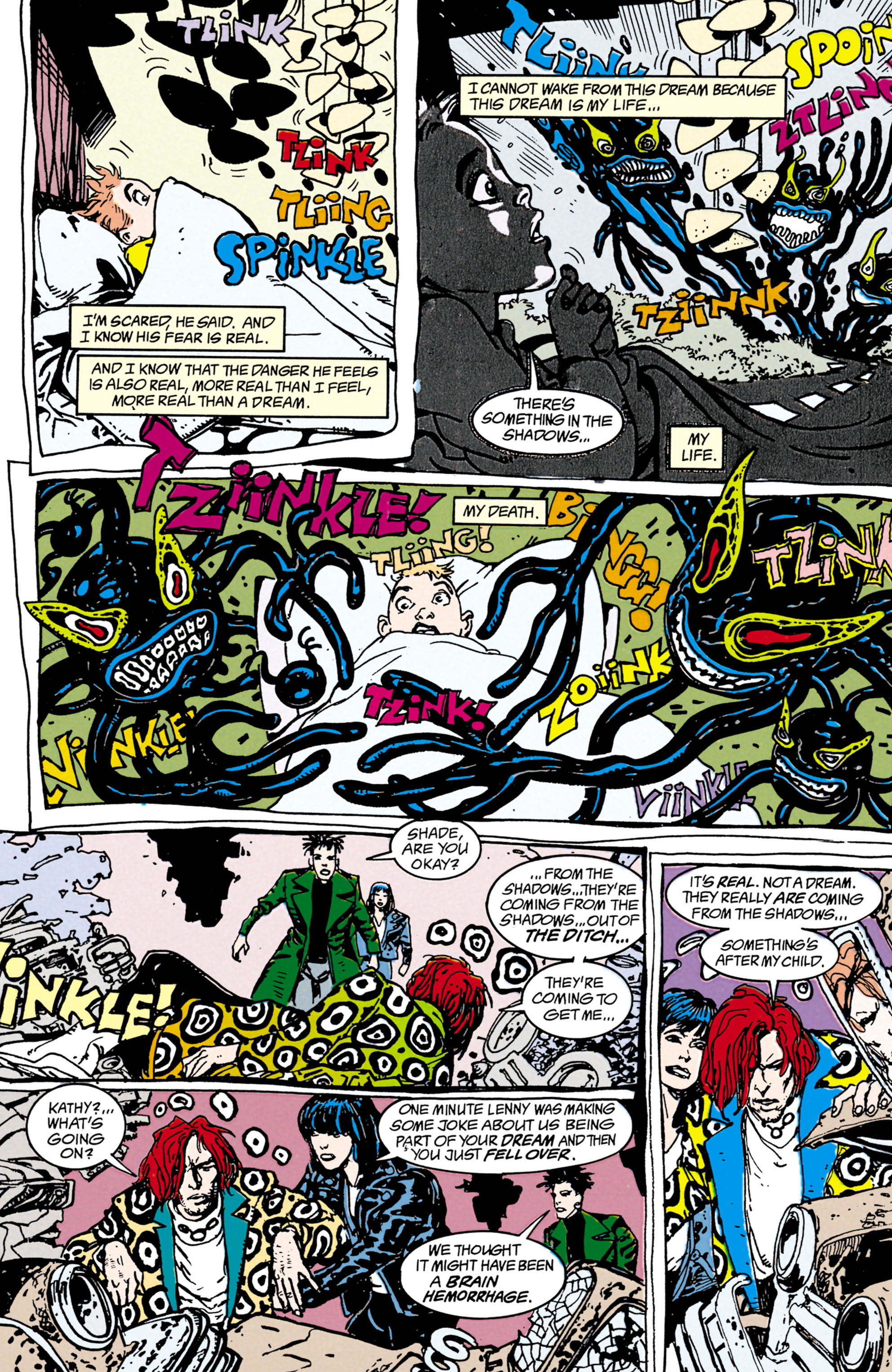 Read online Shade, the Changing Man comic -  Issue #22 - 5