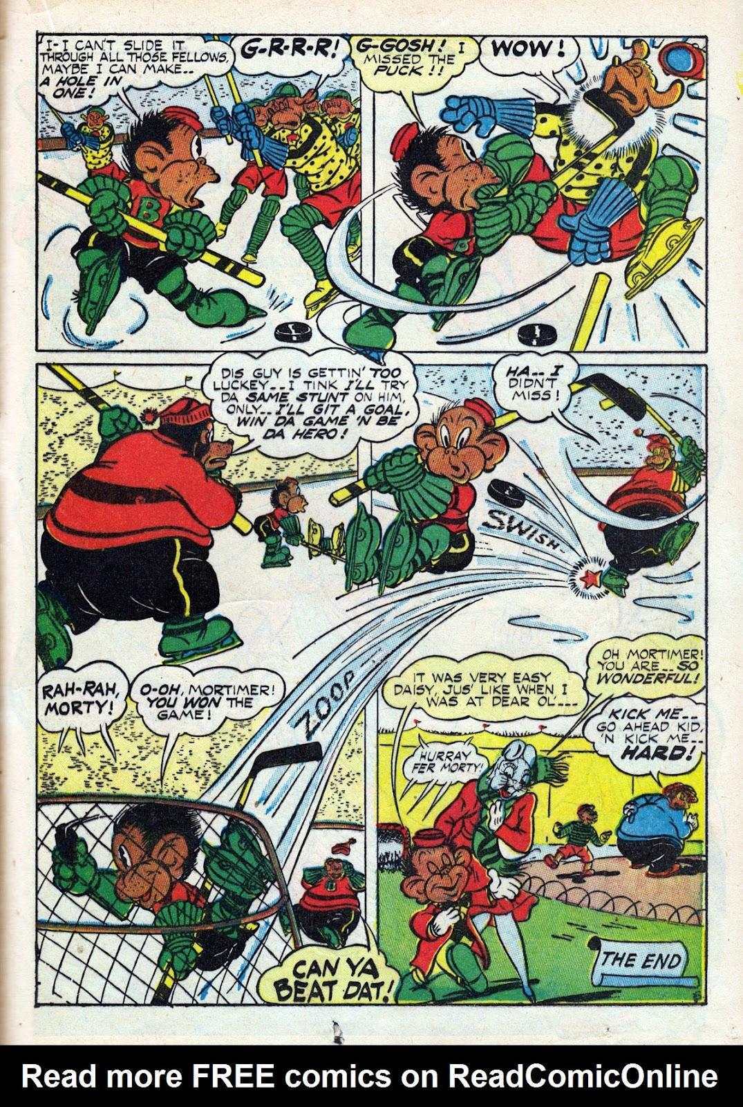 Read online Comedy Comics (1942) comic -  Issue #14 - 41