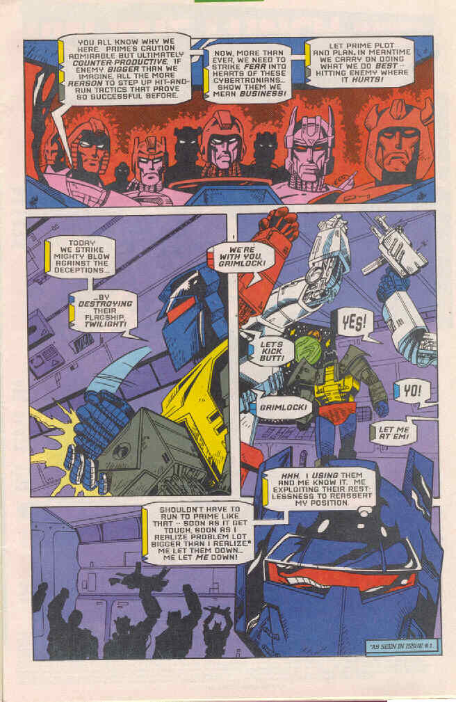 Read online Transformers: Generation 2 comic -  Issue #4 - 8