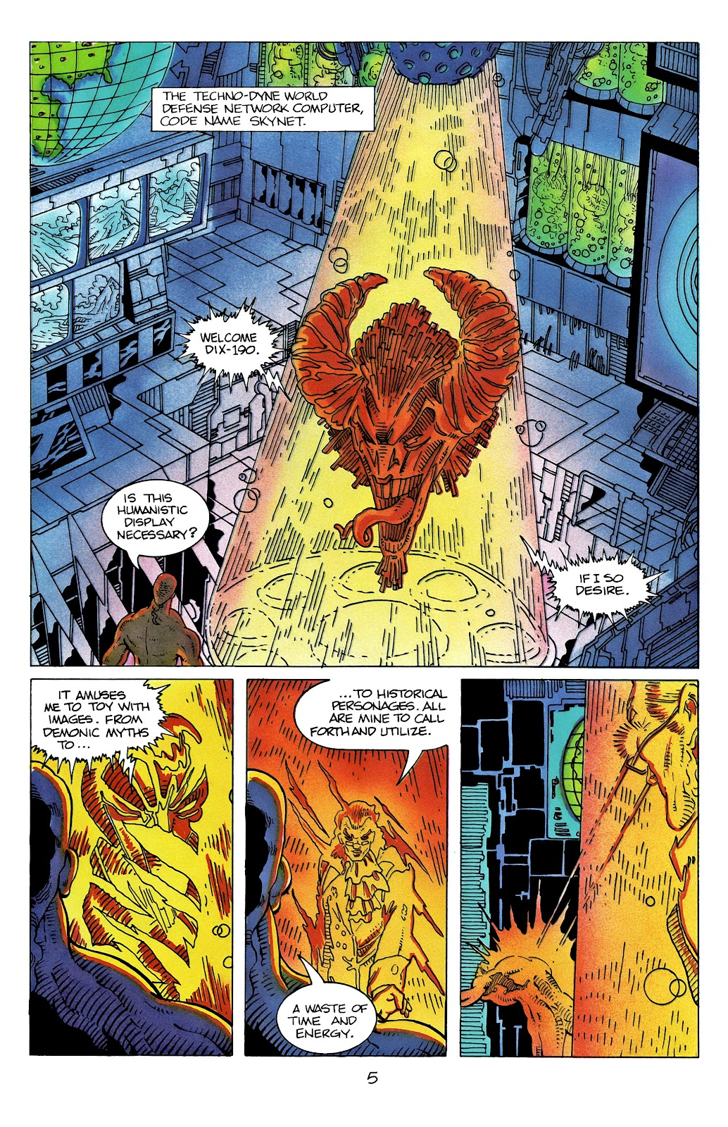 The Terminator (1988) issue 11 - Page 7