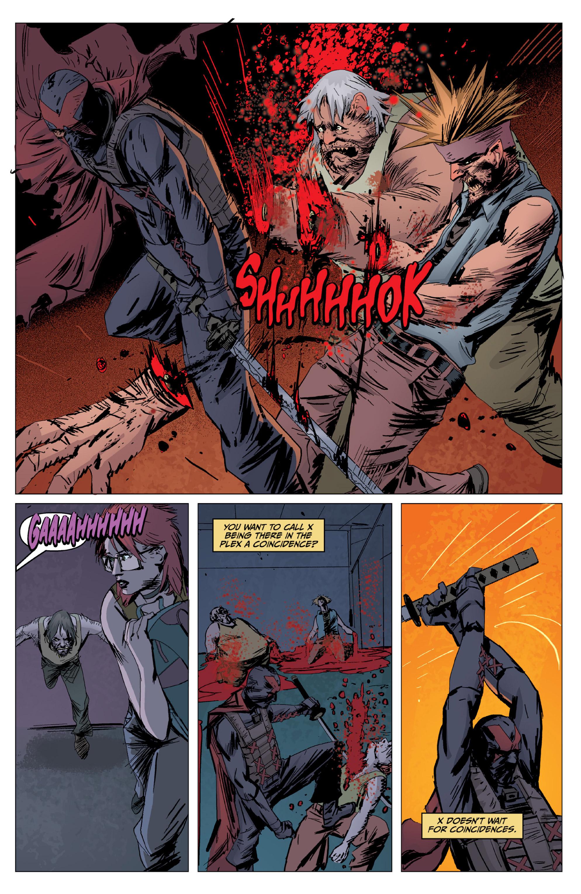 Read online X: Big Bad comic -  Issue # Full - 90