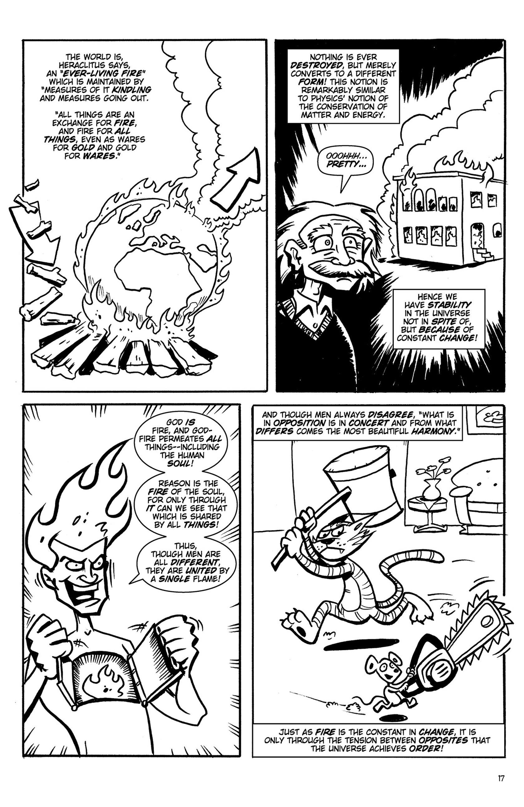 Read online Action Philosophers! comic -  Issue #Action Philosophers! TPB (Part 1) - 17
