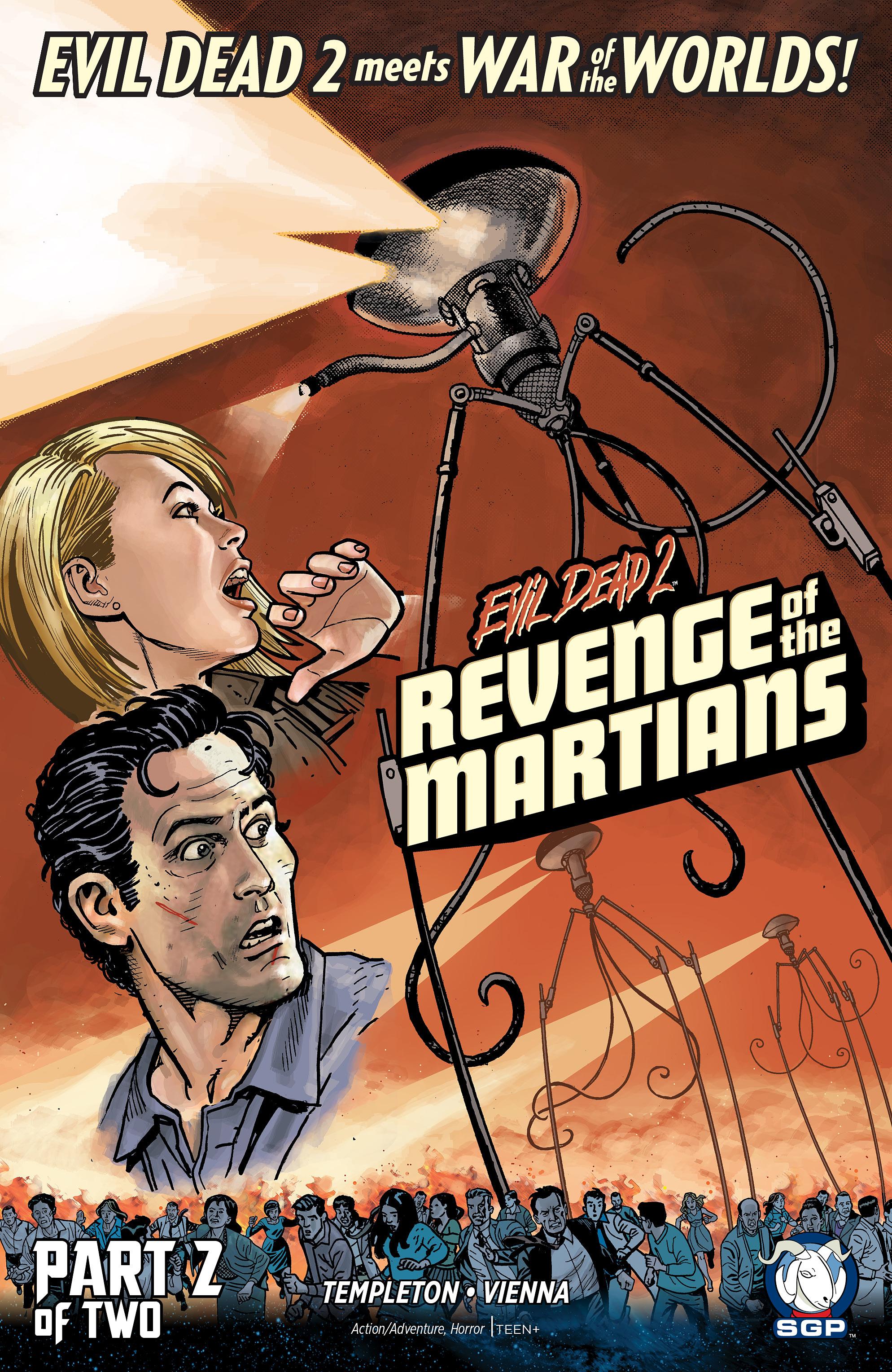 Evil Dead 2: Revenge of the Martians 2 Page 1