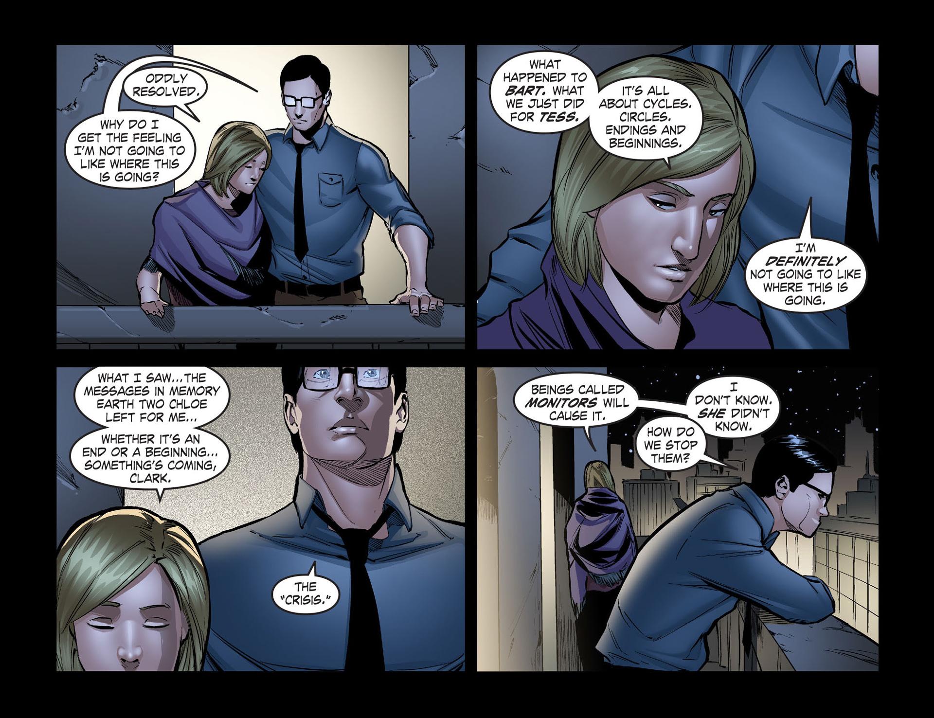 Read online Smallville: Season 11 comic -  Issue #40 - 18