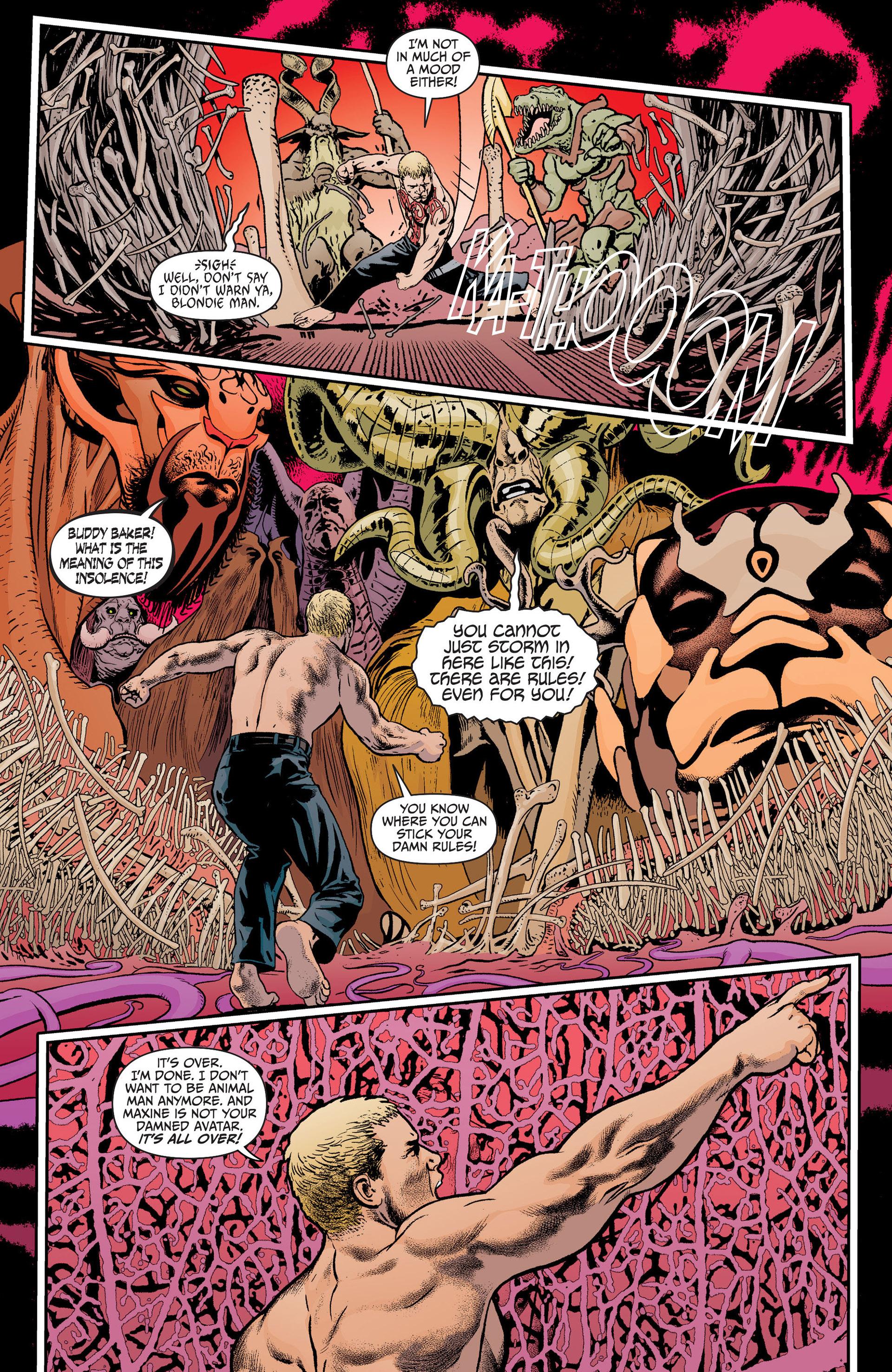 Read online Animal Man (2011) comic -  Issue #19 - 16