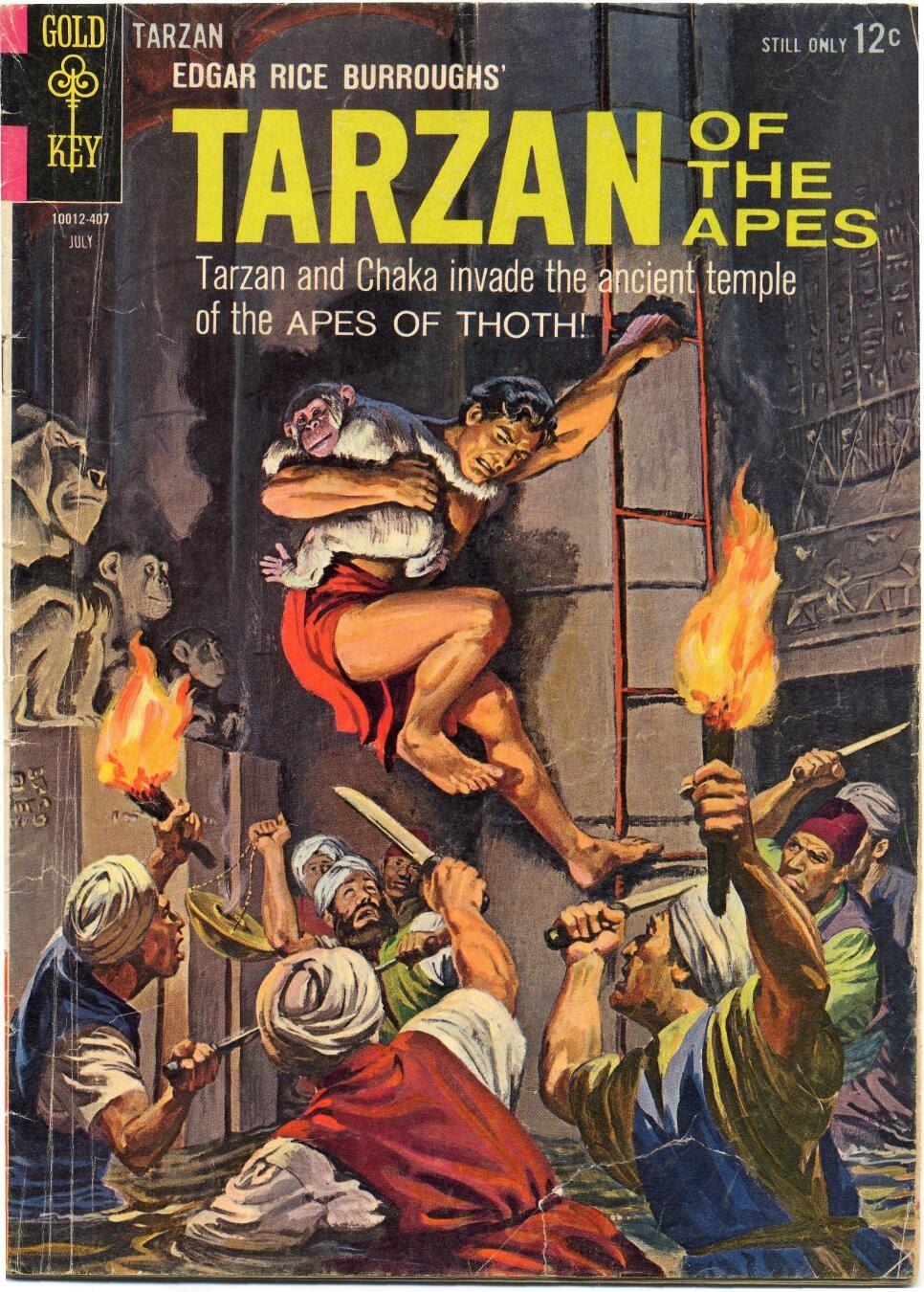 Tarzan (1962) issue 143 - Page 1