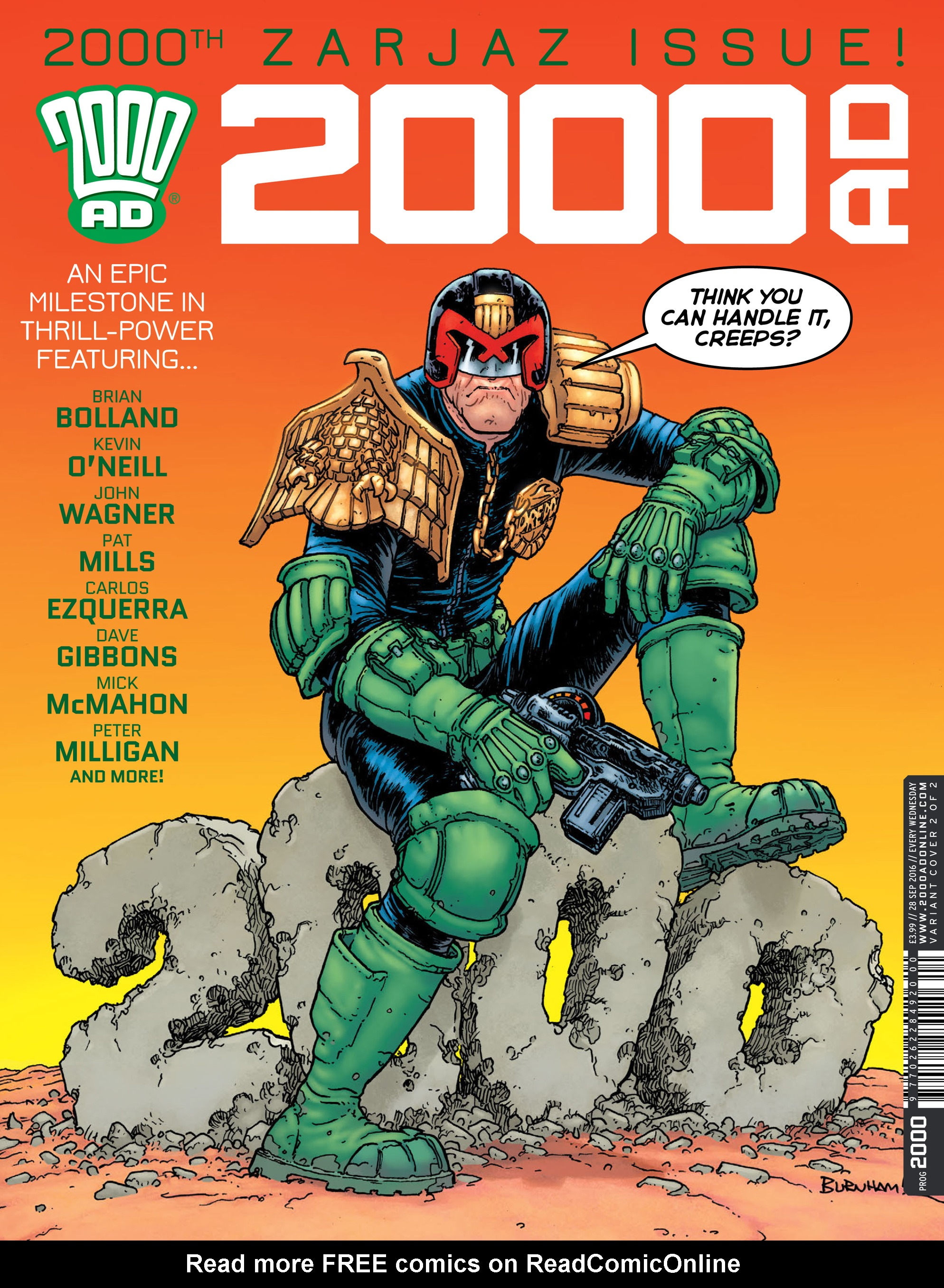 Read online 2000 AD comic -  Issue #2000 - 2