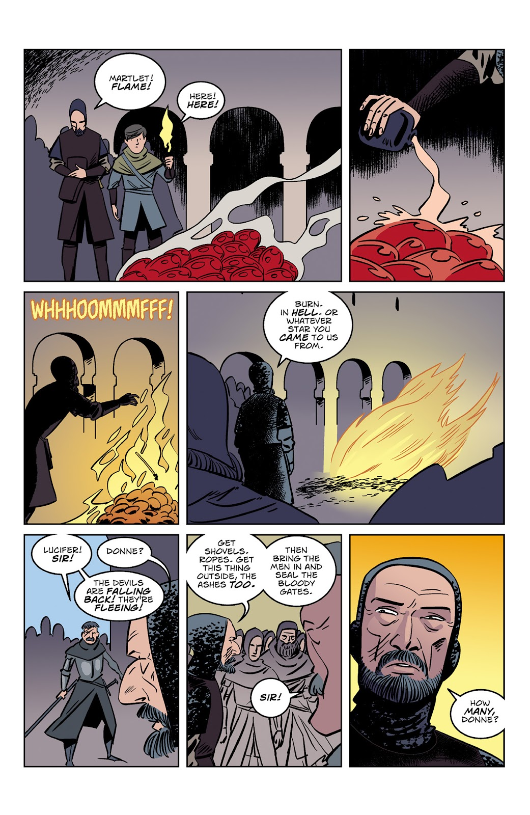 Read online Dark Ages comic -  Issue #3 - 14