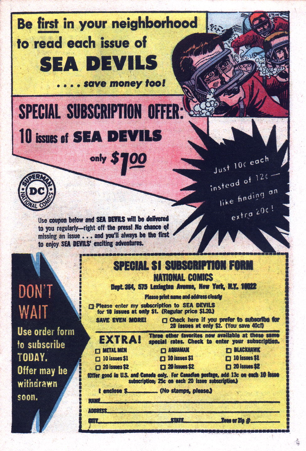 Read online Sea Devils comic -  Issue #17 - 23