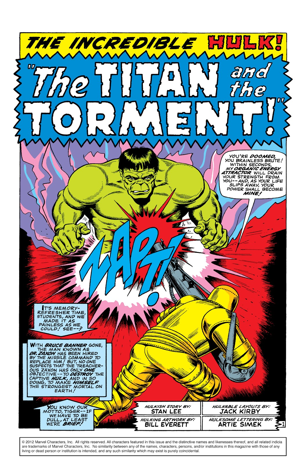 Read online Marvel Masterworks: The Incredible Hulk comic -  Issue # TPB 2 (Part 3) - 34