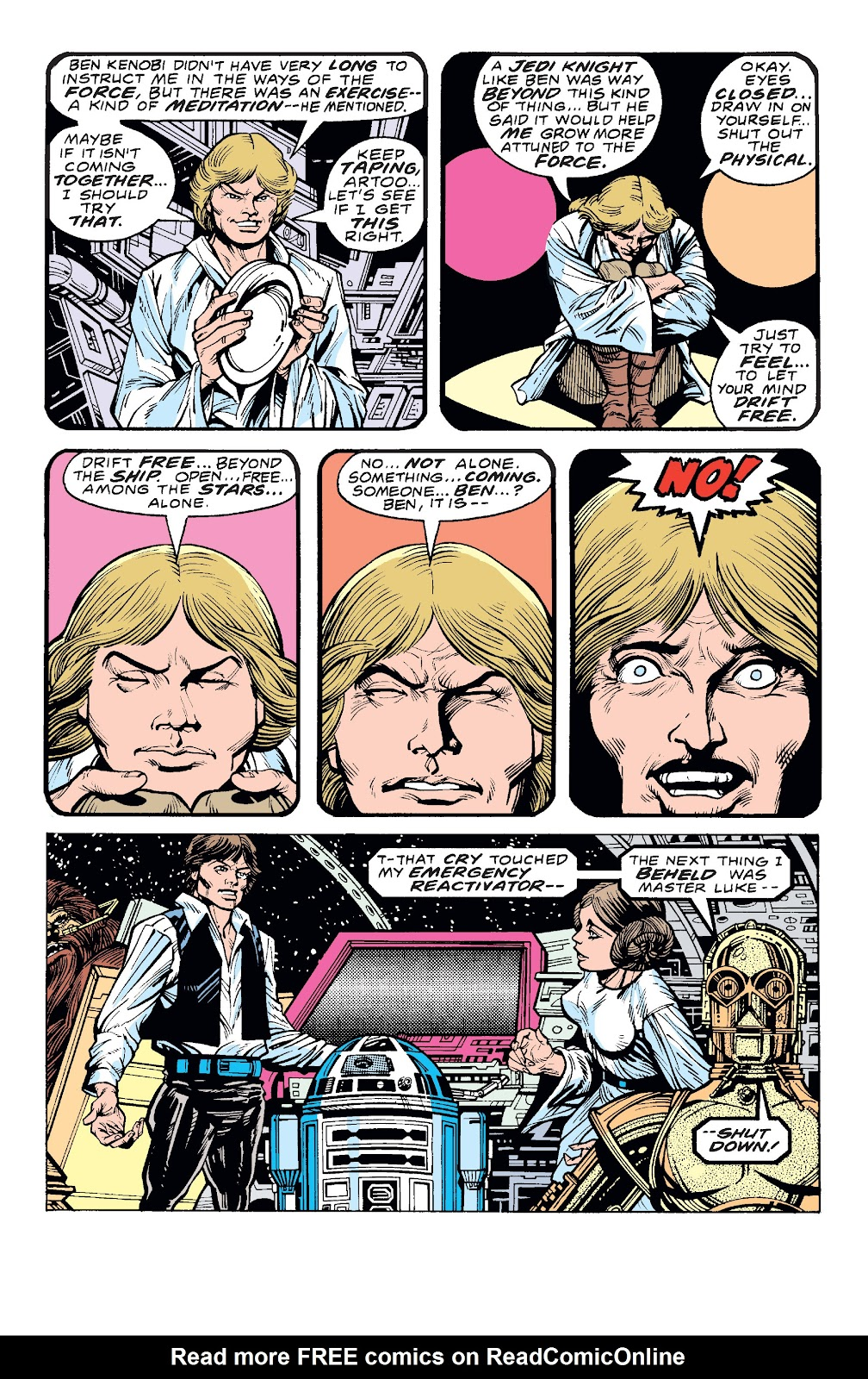Read online Star Wars Legends: The Original Marvel Years - Epic Collection comic -  Issue # TPB 1 (Part 4) - 19