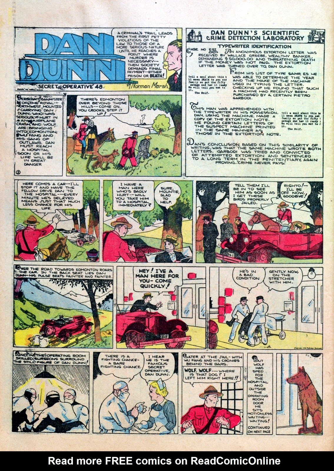 Read online Famous Funnies comic -  Issue #10 - 58