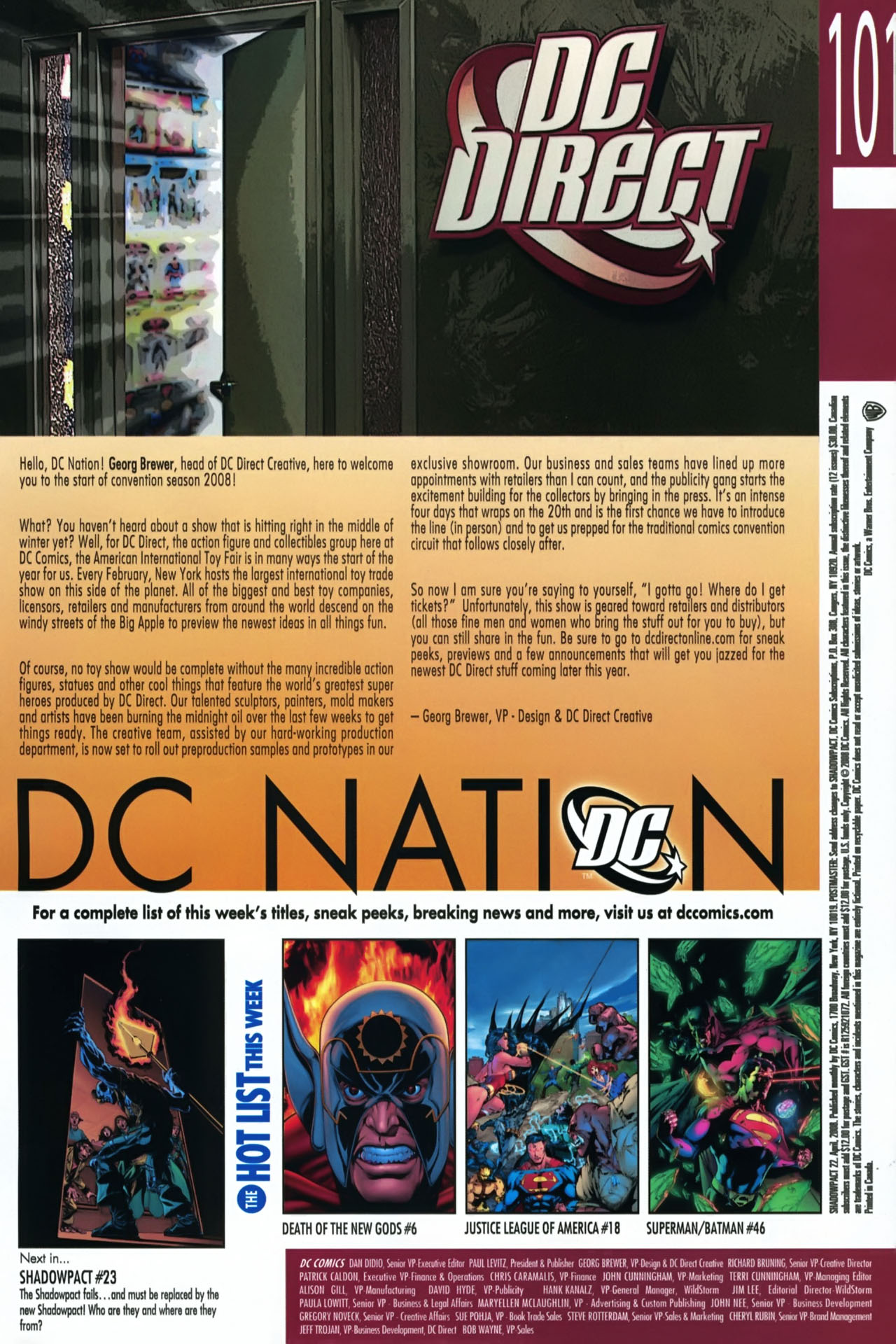 Read online Shadowpact comic -  Issue #22 - 23