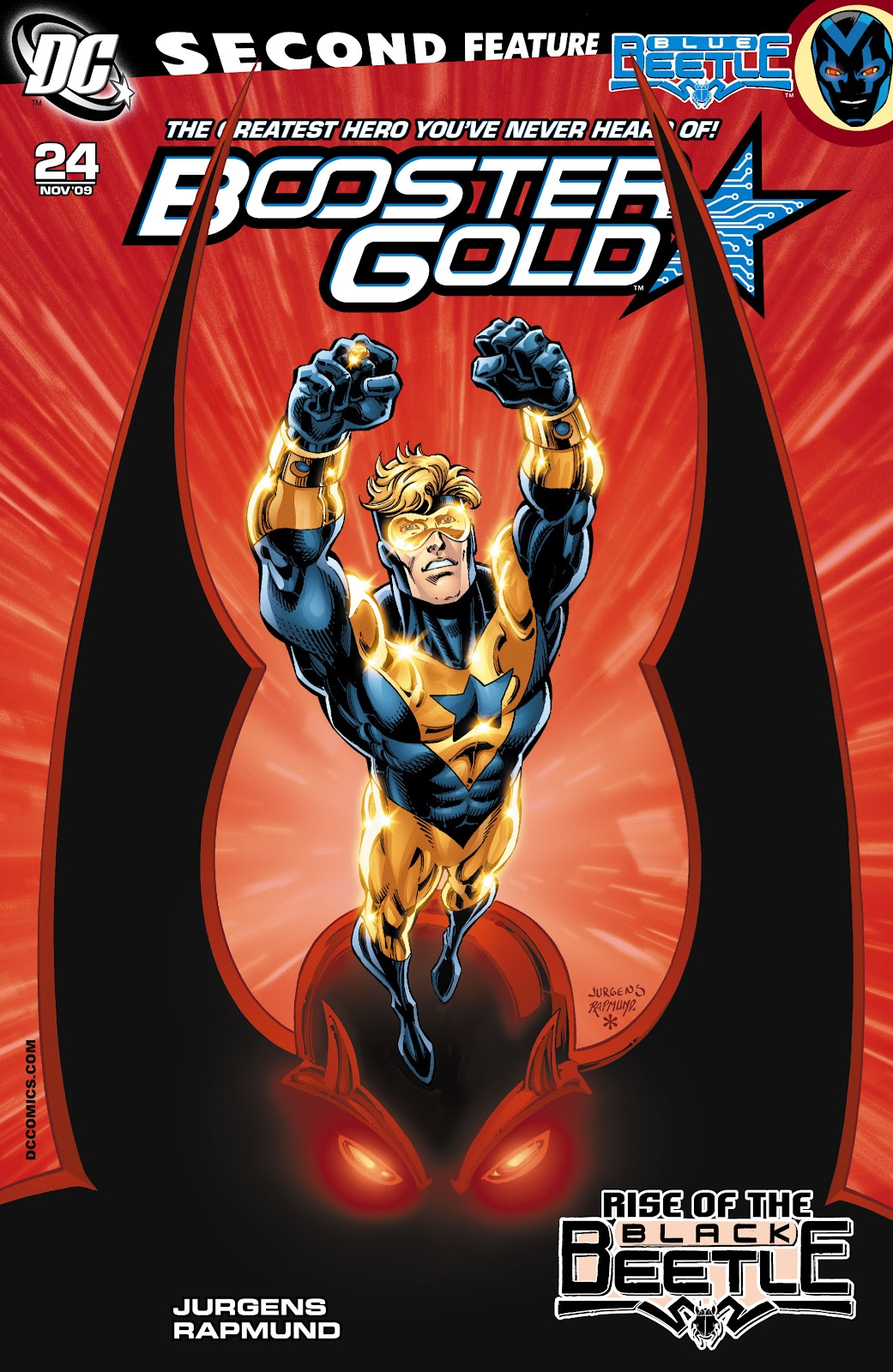 Booster Gold (2007) issue 24 - Page 1