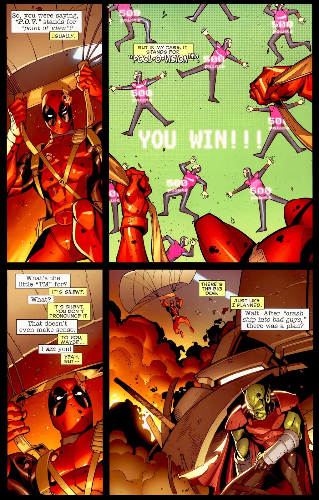 Read online Deadpool (2008) comic -  Issue #1 - 18
