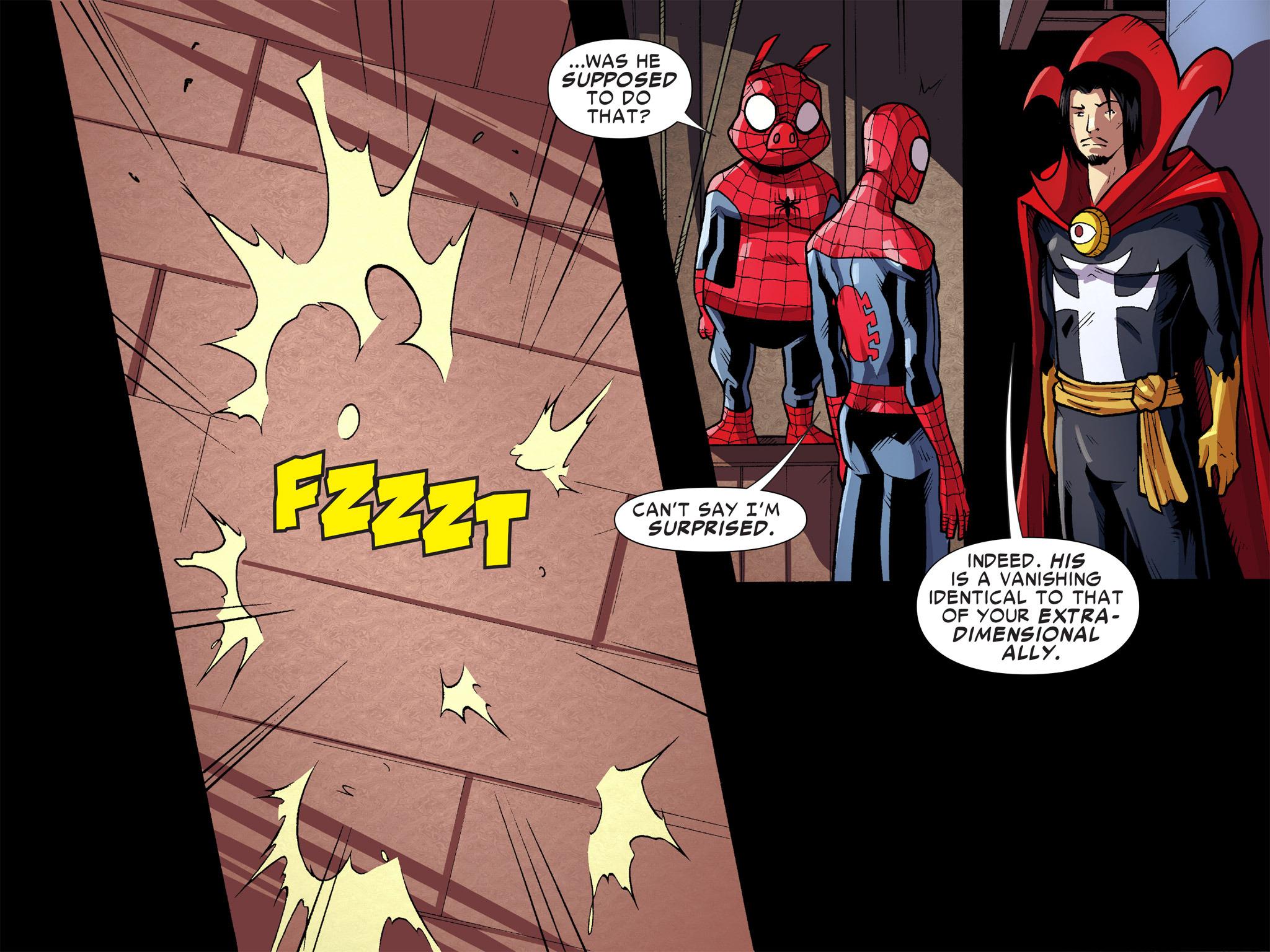 Read online Ultimate Spider-Man (Infinite Comics) (2016) comic -  Issue #9 - 16