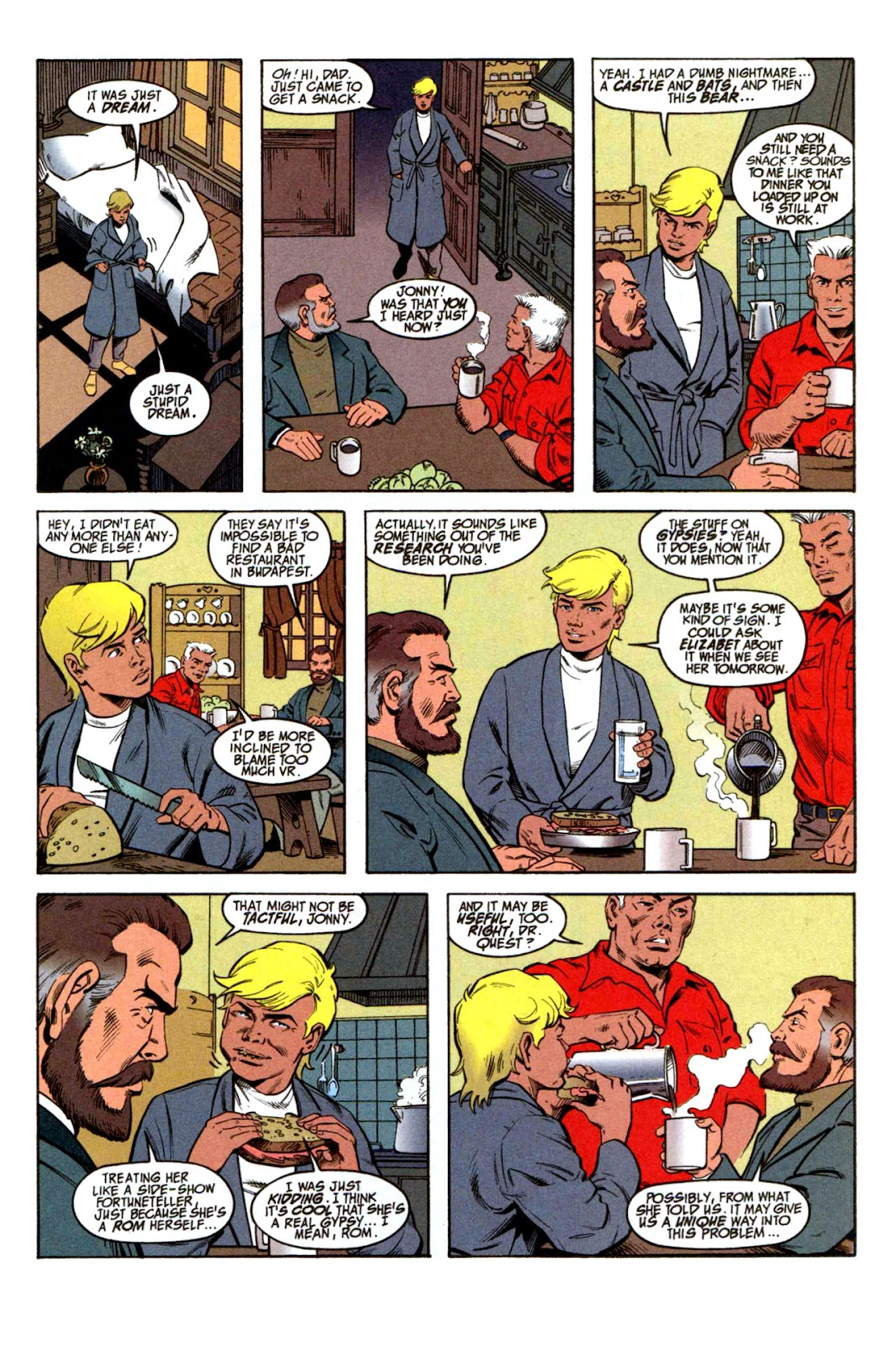 Read online The Real Adventures of Jonny Quest comic -  Issue #1 - 7