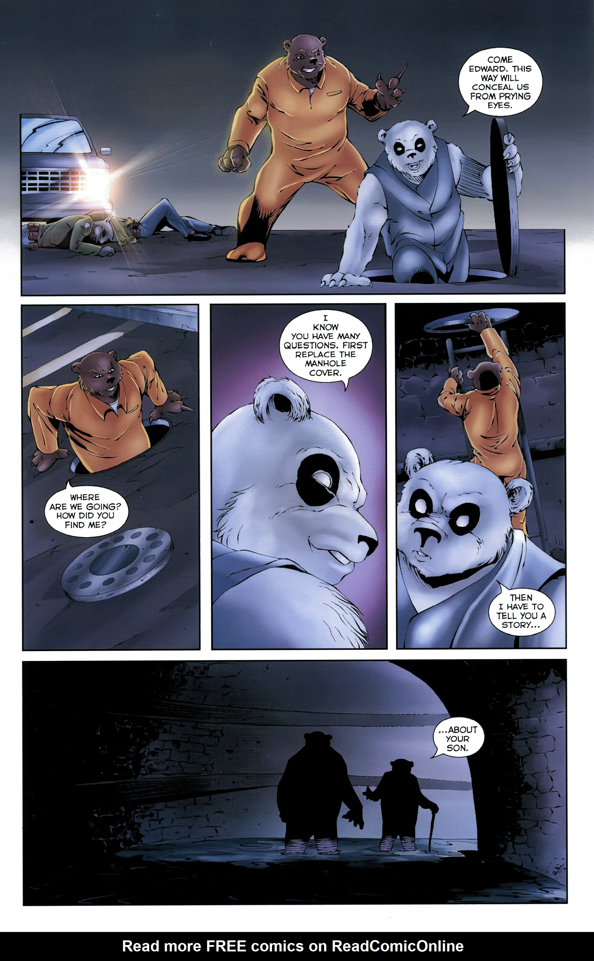 Read online Dead Pooh comic -  Issue #3 - 12