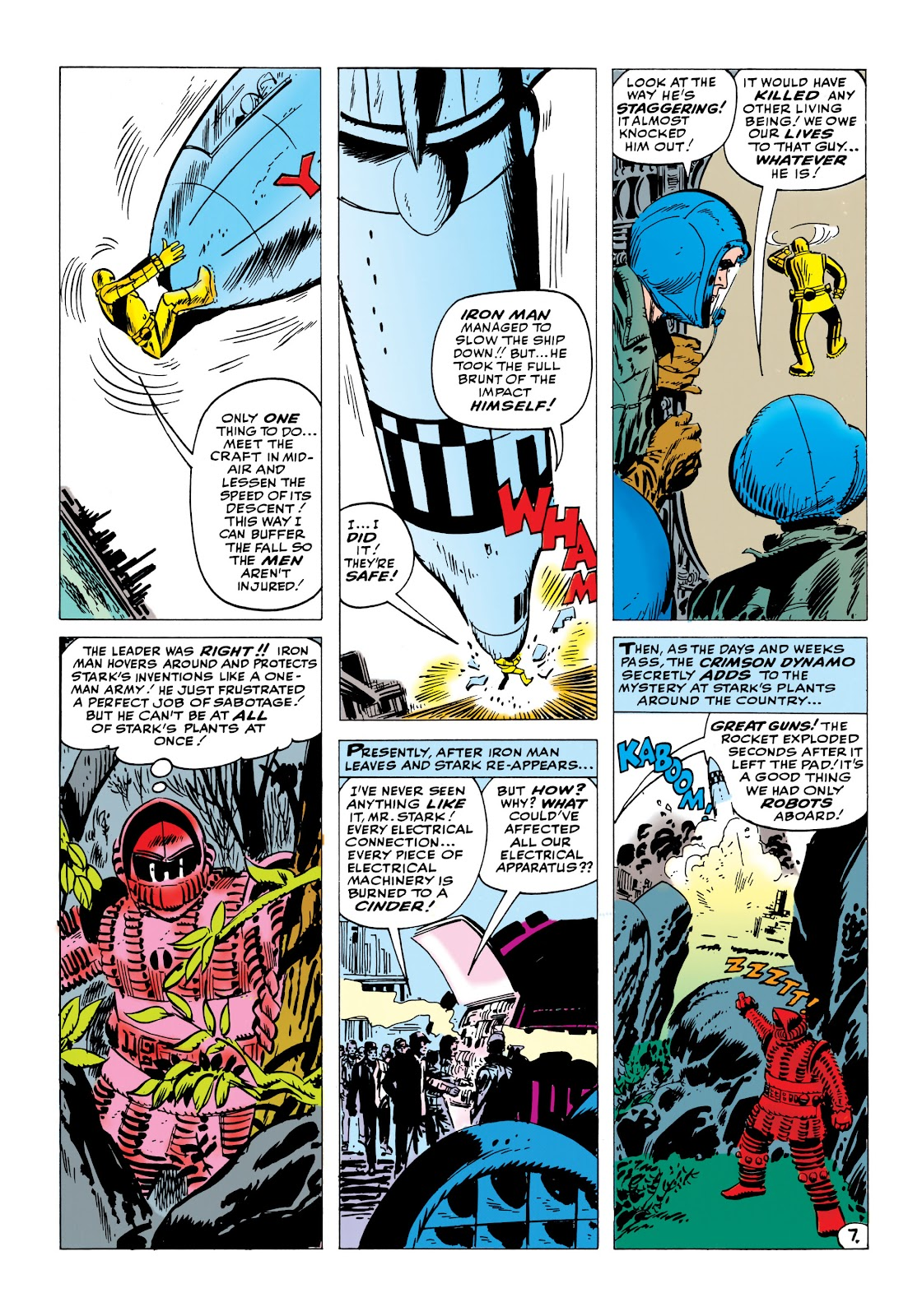 Read online Marvel Masterworks: The Invincible Iron Man comic -  Issue # TPB 1 (Part 2) - 13