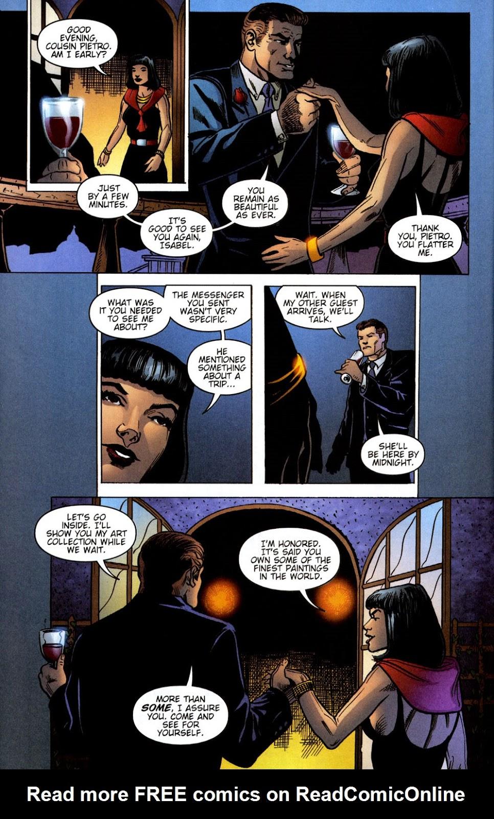 Read online Vampire the Masquerade comic -  Issue # Giovanni - 6
