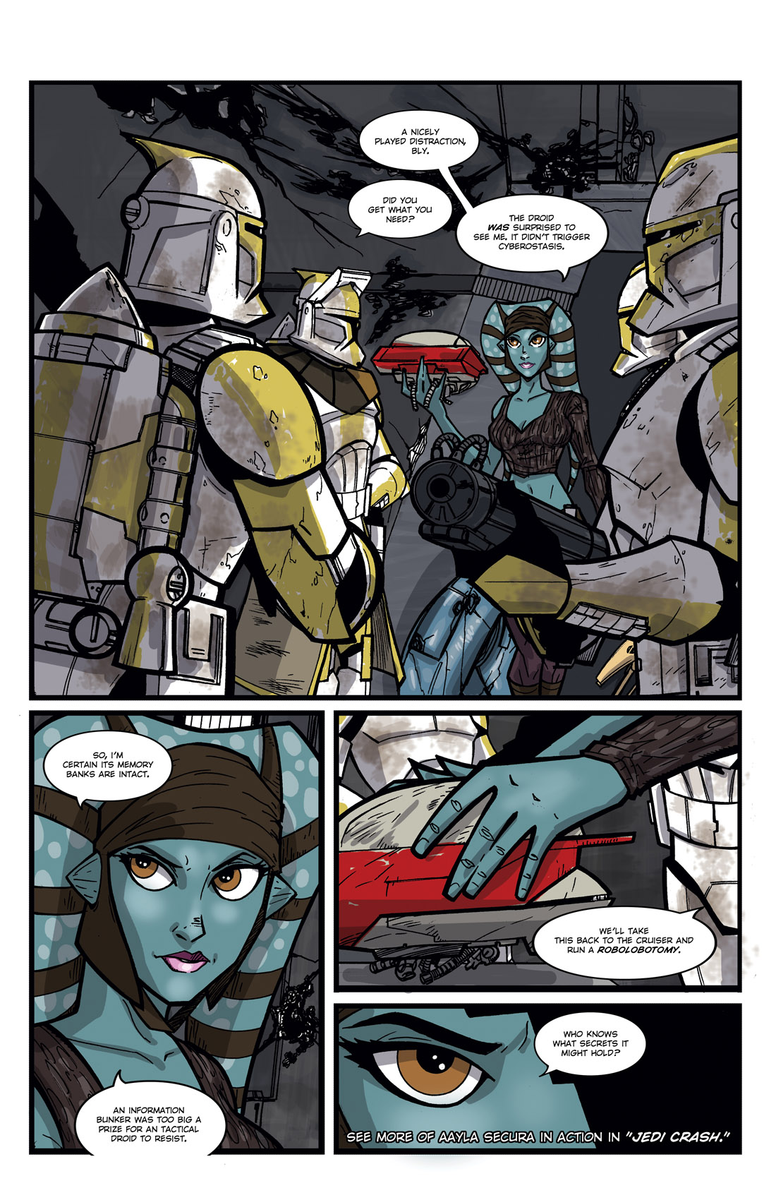 Read online Star Wars: Tales From The Clone Wars comic -  Issue # TPB - 94